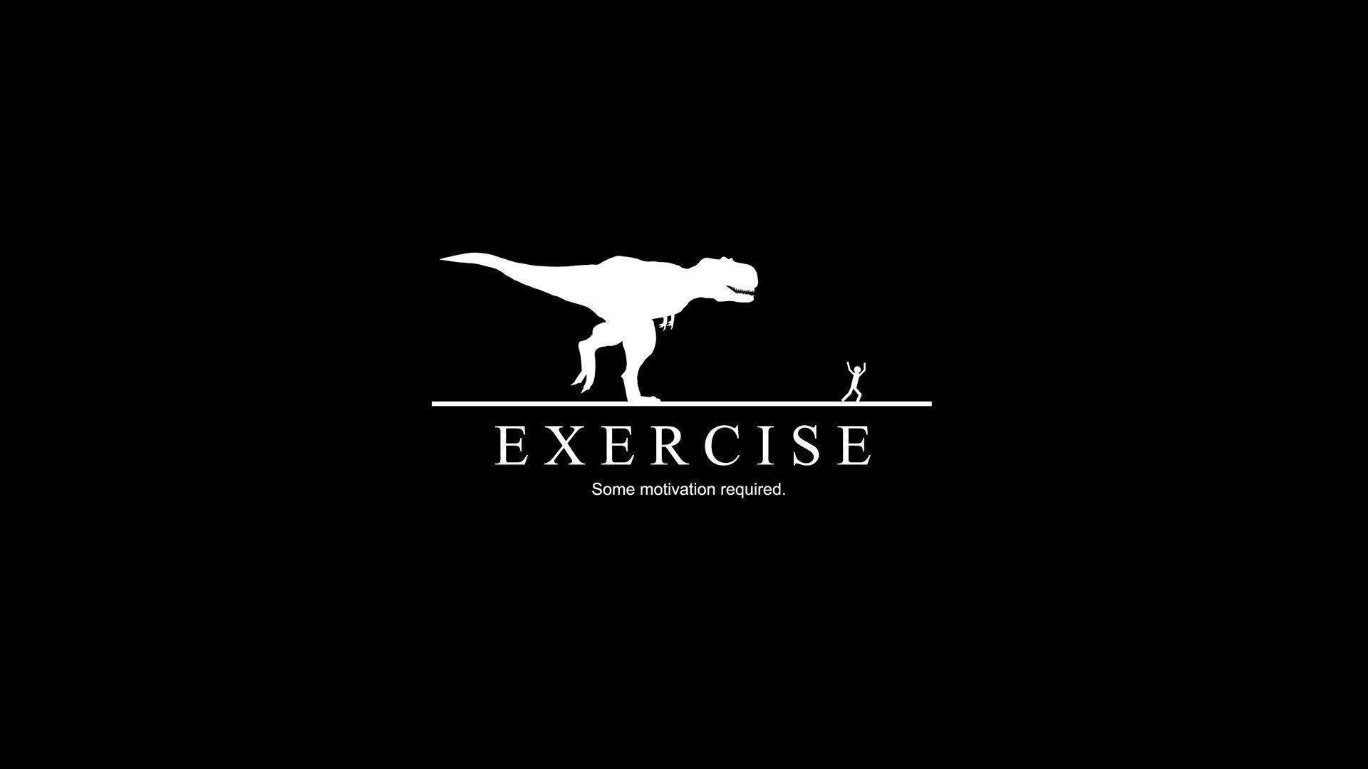 Some Motivation Required Dinosaur Man Funny HD Wallpaper - ZoomWalls