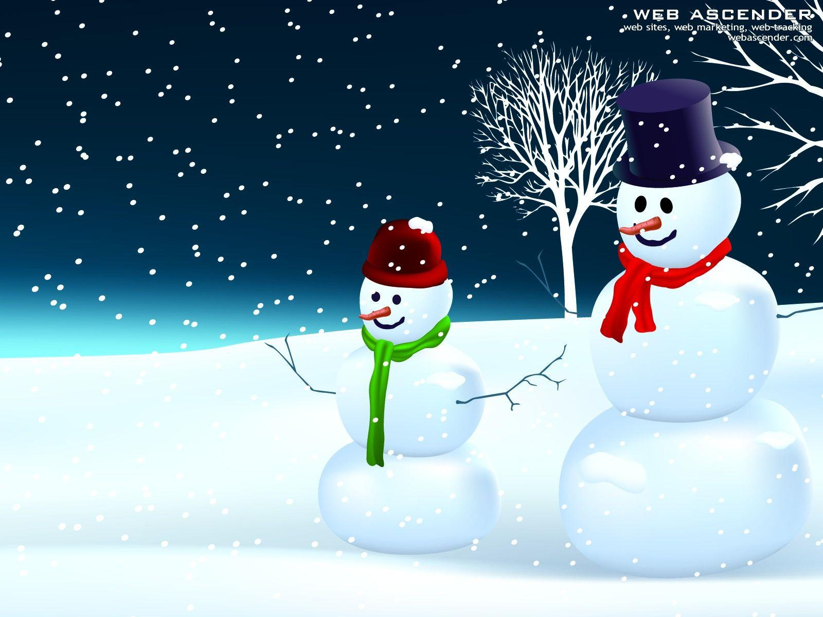 cute country snowman wallpaper - photo #5