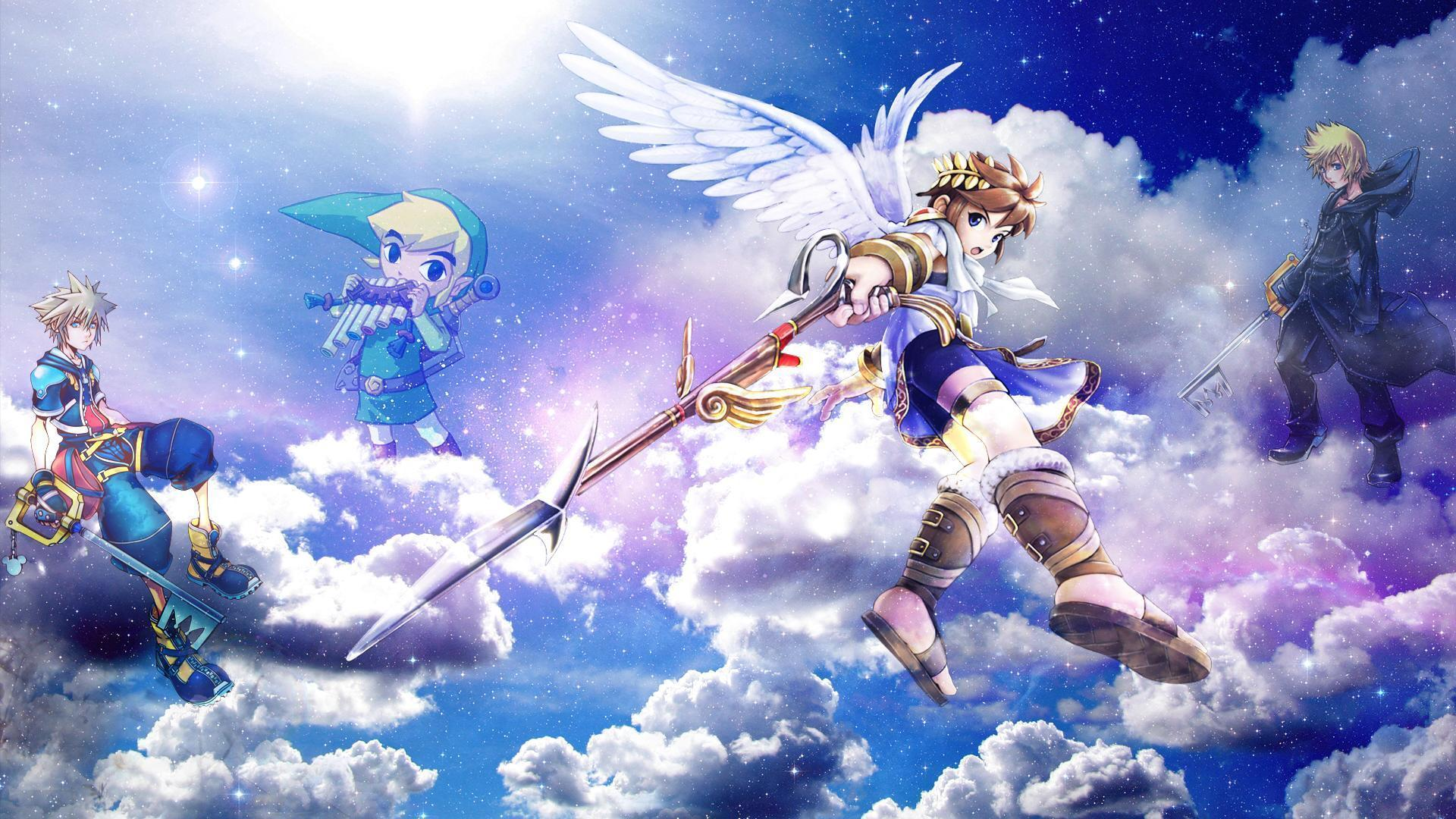 Kid Icarus Wallpapers Wallpaper Cave