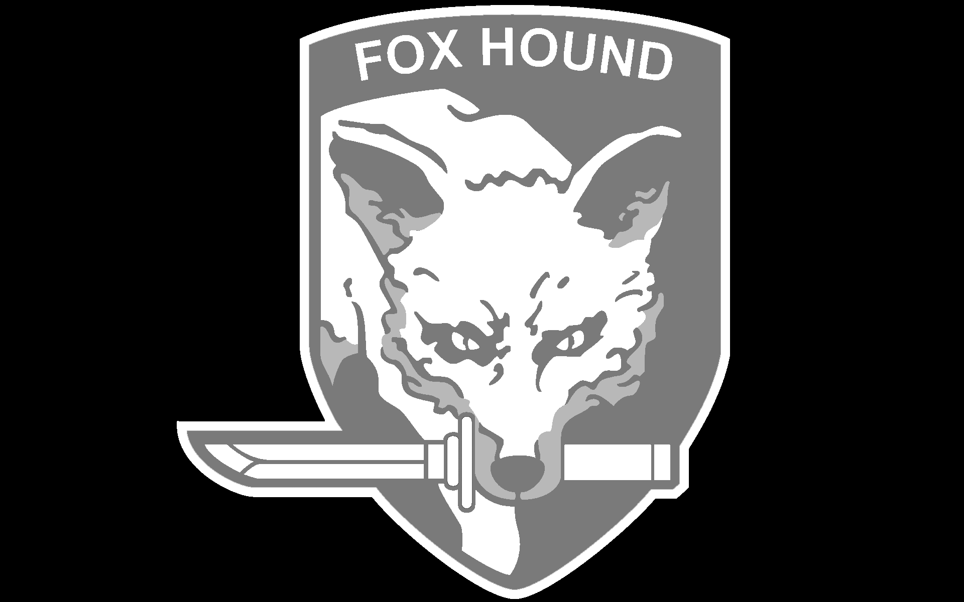 Pix For > Foxhound Logo Wallpaper