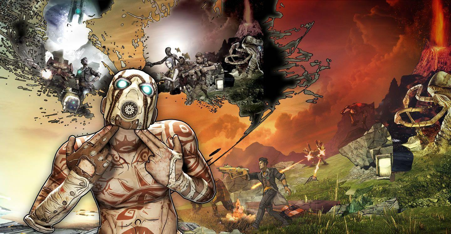 Borderlands 2 Desktop Backgrounds