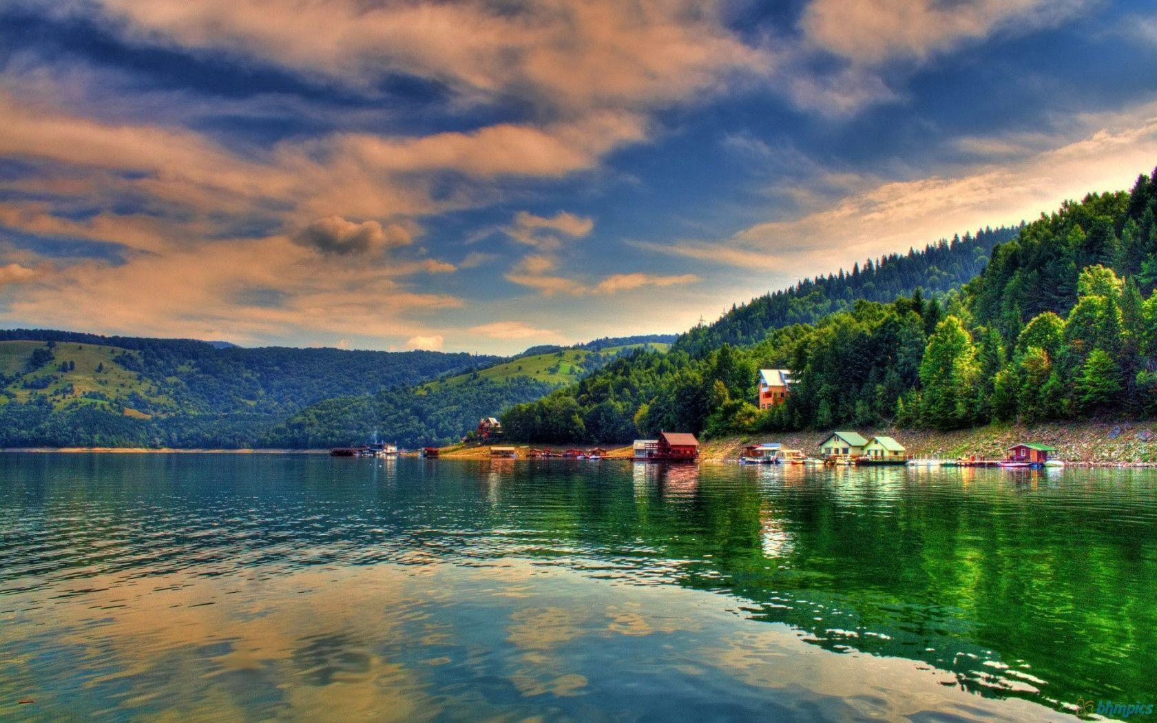 Bicaz Lake Romania