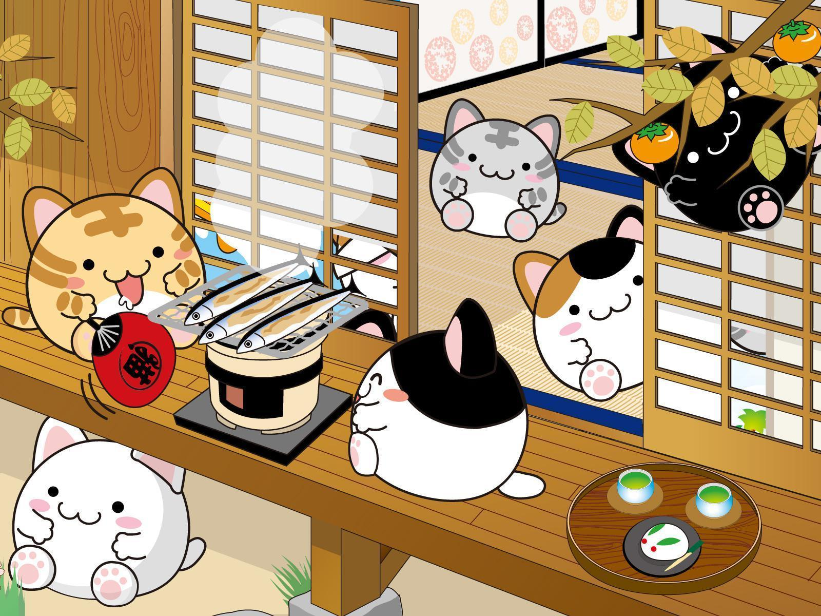 Cute japanese wallpapers wallpaper cave - Kawaii food wallpaper ...