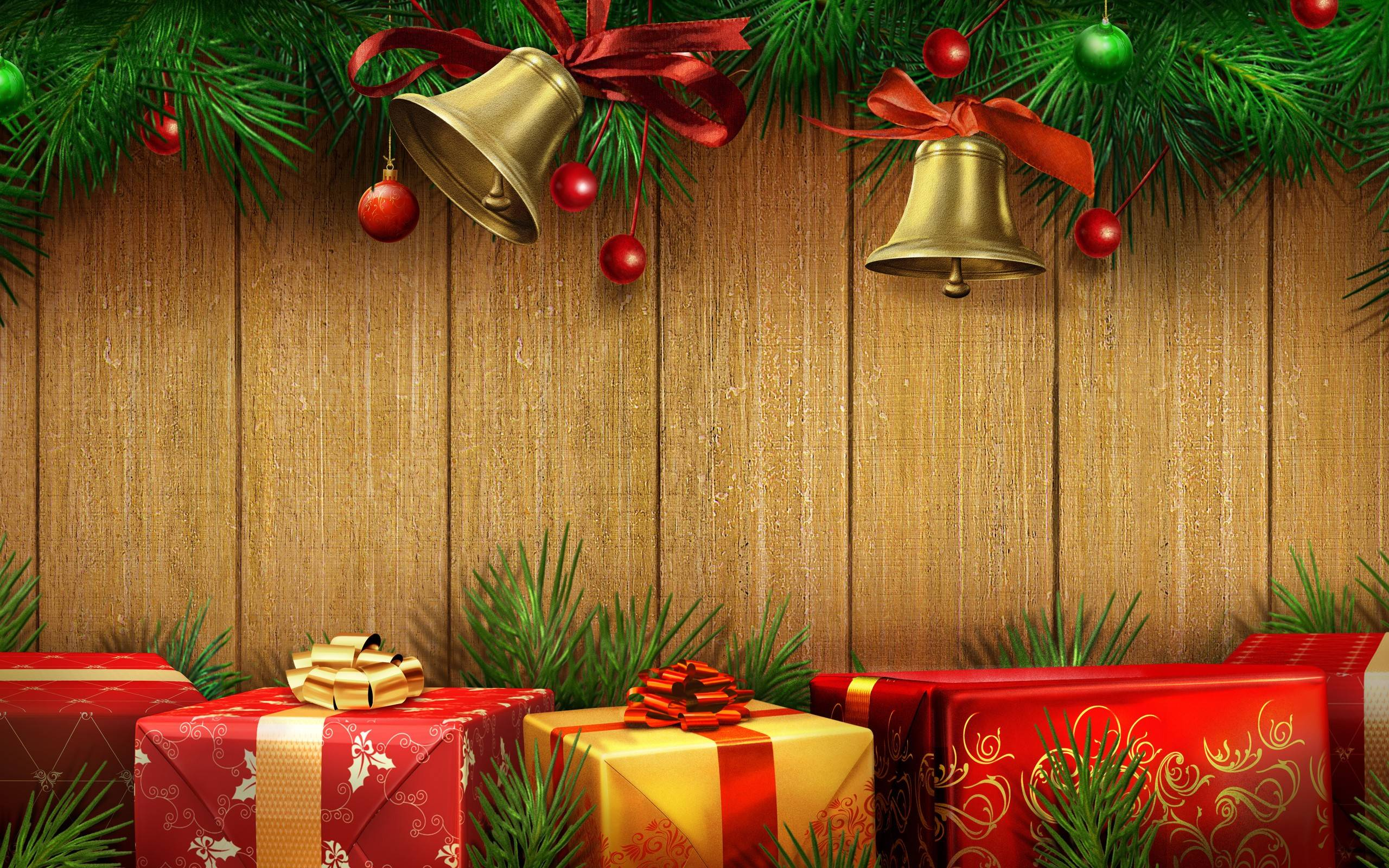 Christmas Present Wallpapers Wallpaper Cave