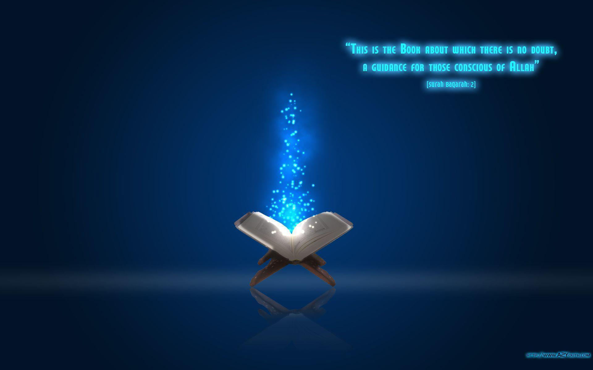Book of No Doubt - Quran - Islamic Wallpapers - A2Youth.