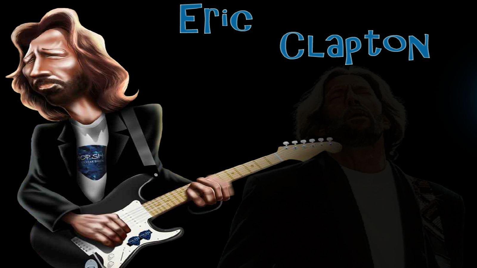 Eric Clapton Wallpapers Guitar Rock 80