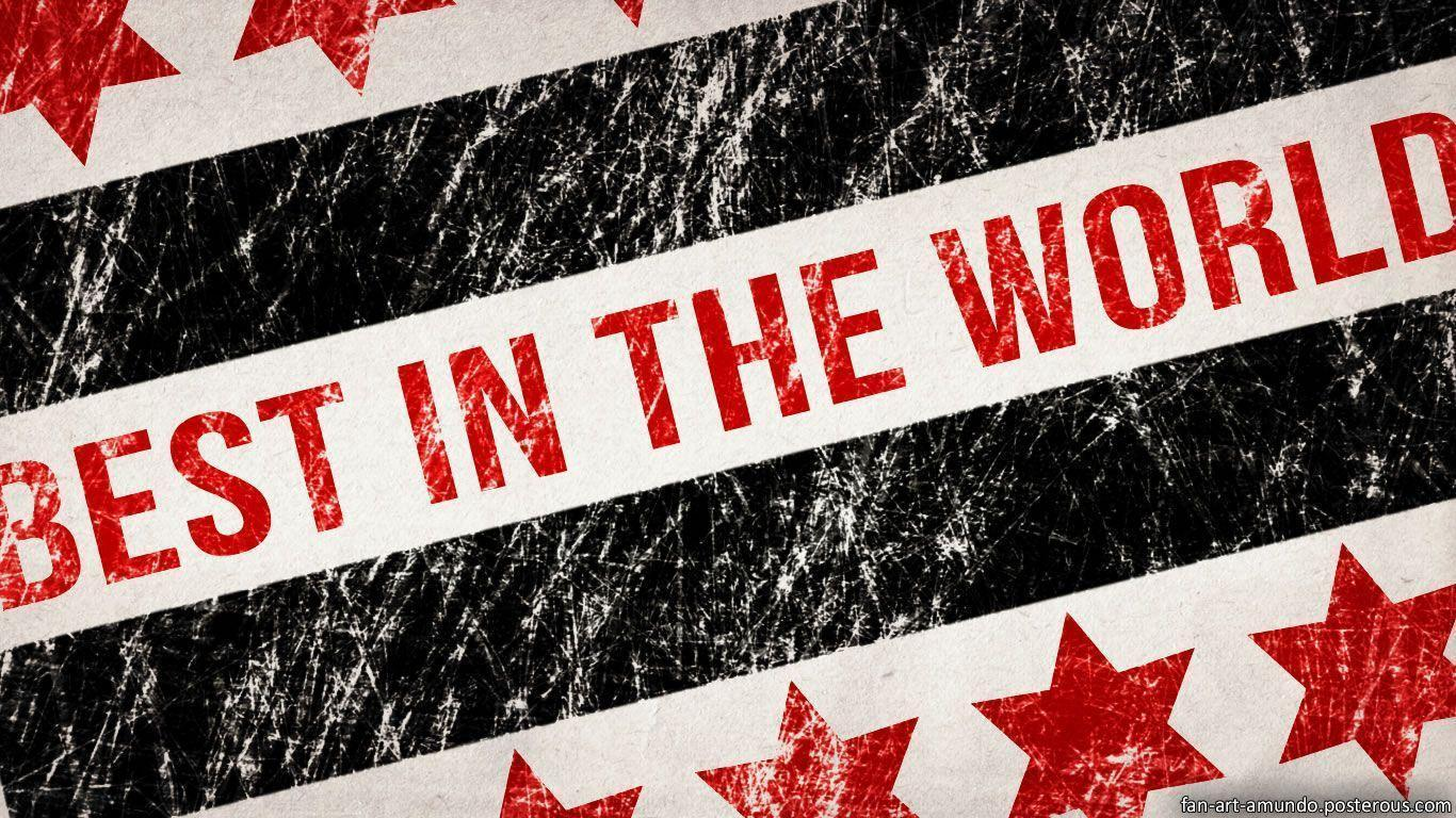 I Am Best In The World Logo CM Punk Logo Wa...