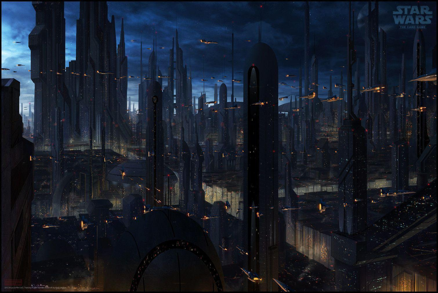coruscant wallpapers wallpaper cave