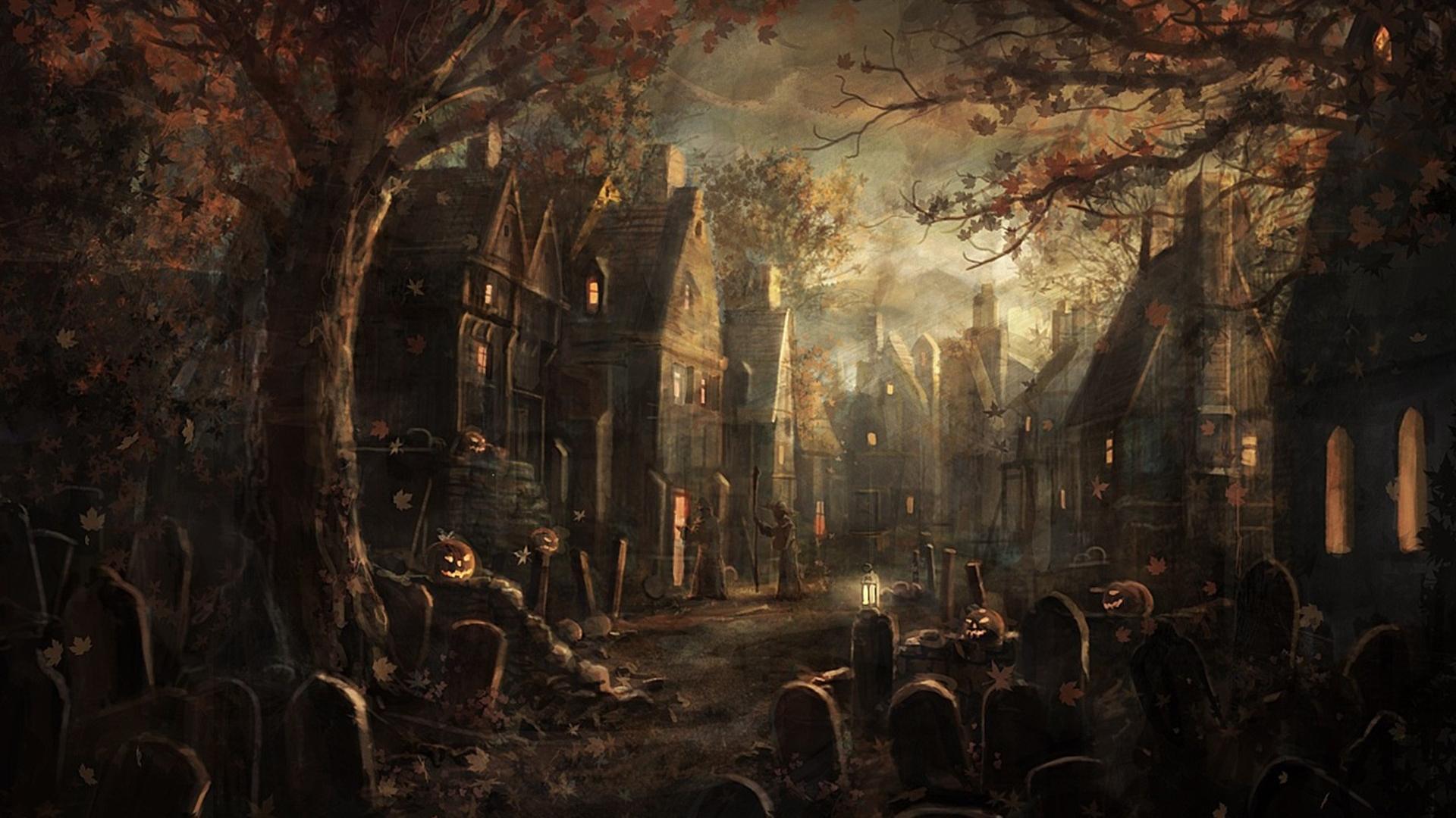hd halloween wallpaper 1920x1080 viewing gallery - Halloween Wallpapaer
