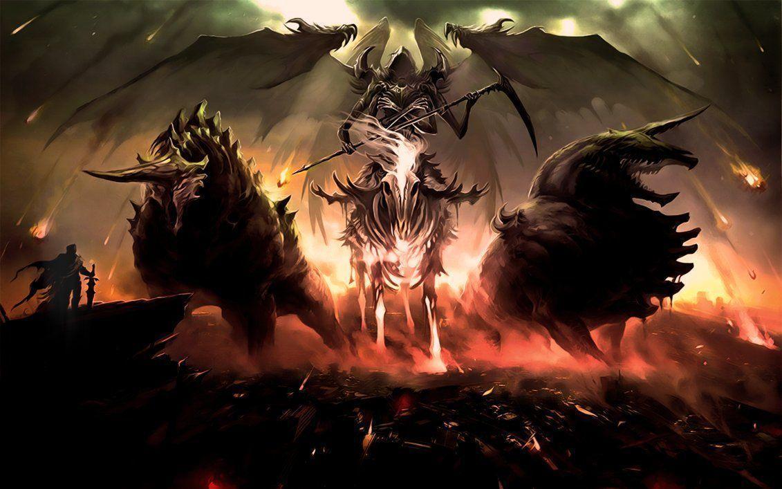 Grim Reaper Wallpapers - Wallpaper Cave