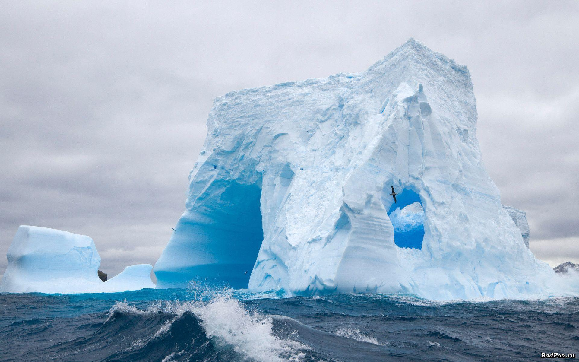 Wallpapers of antarctica Stock Free Image