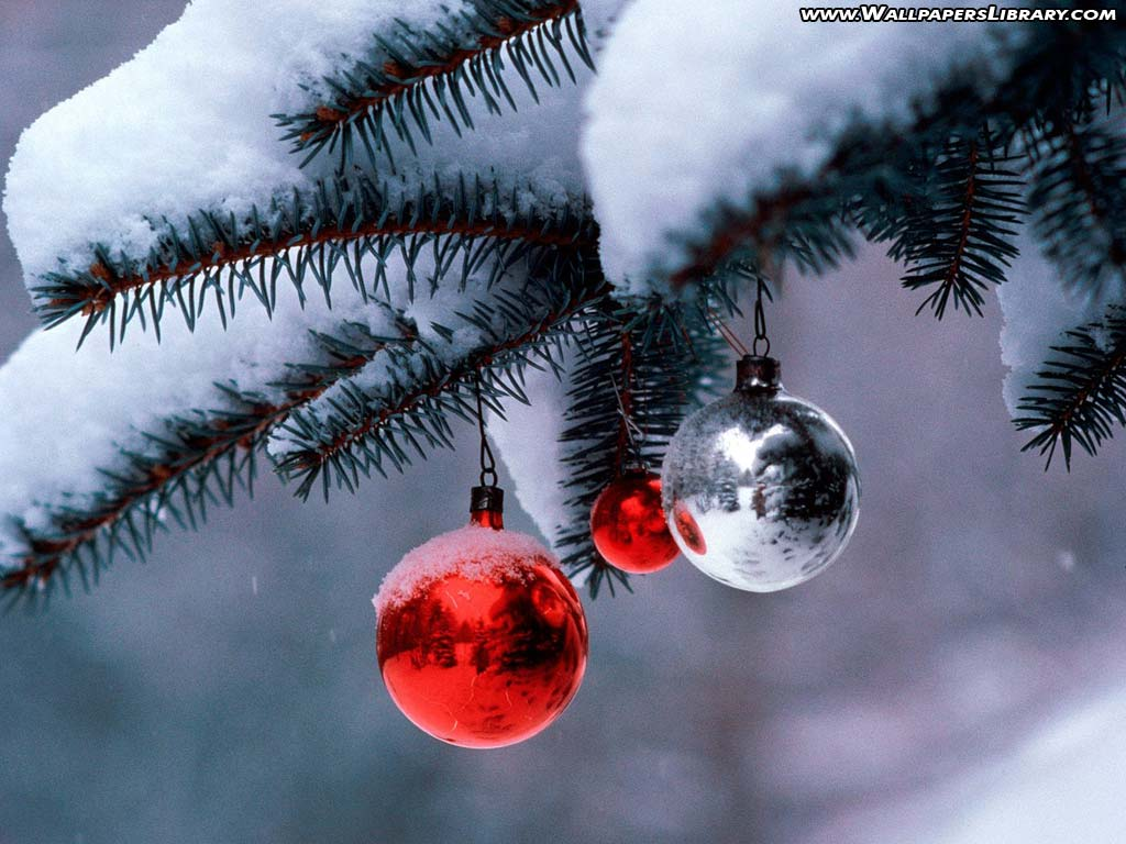 christmas ornament wallpaper / christmas backgrounds
