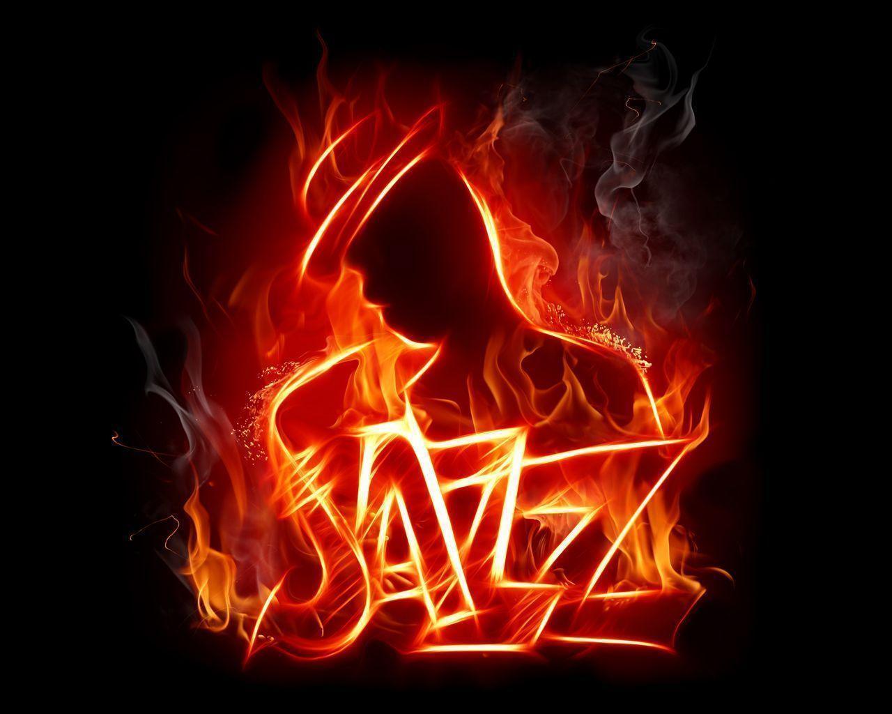 Jazz Music Fire Wallpaper Music #13400 Wallpaper | Wallpaper ...