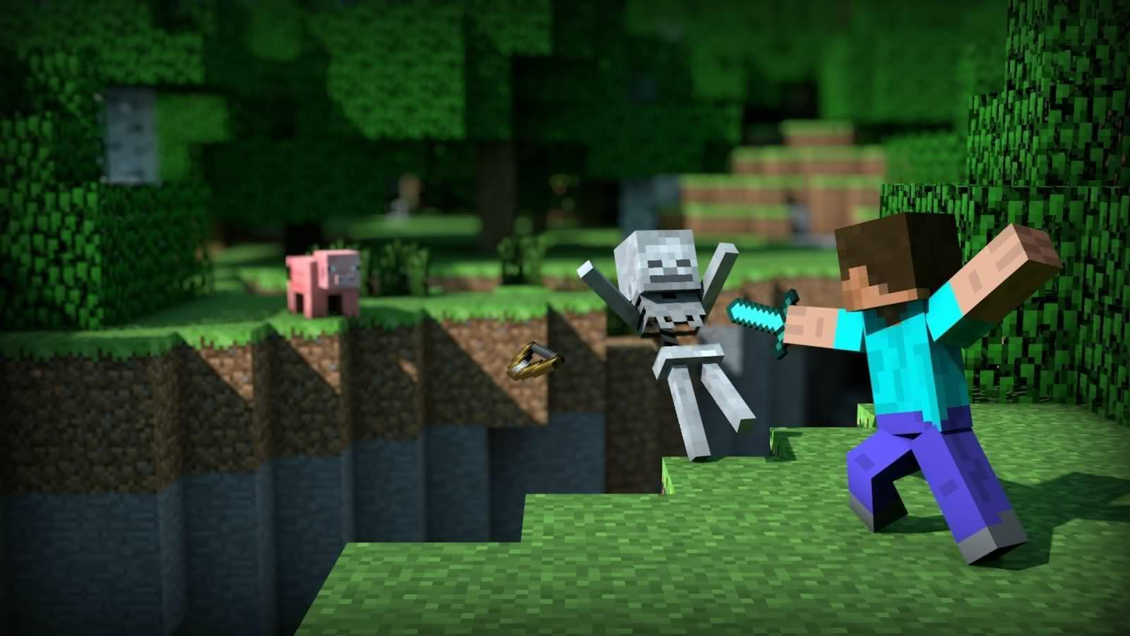 Minecraft Desktop Wallpapers Hd Panda 1600x900PX ~ Wallpapers