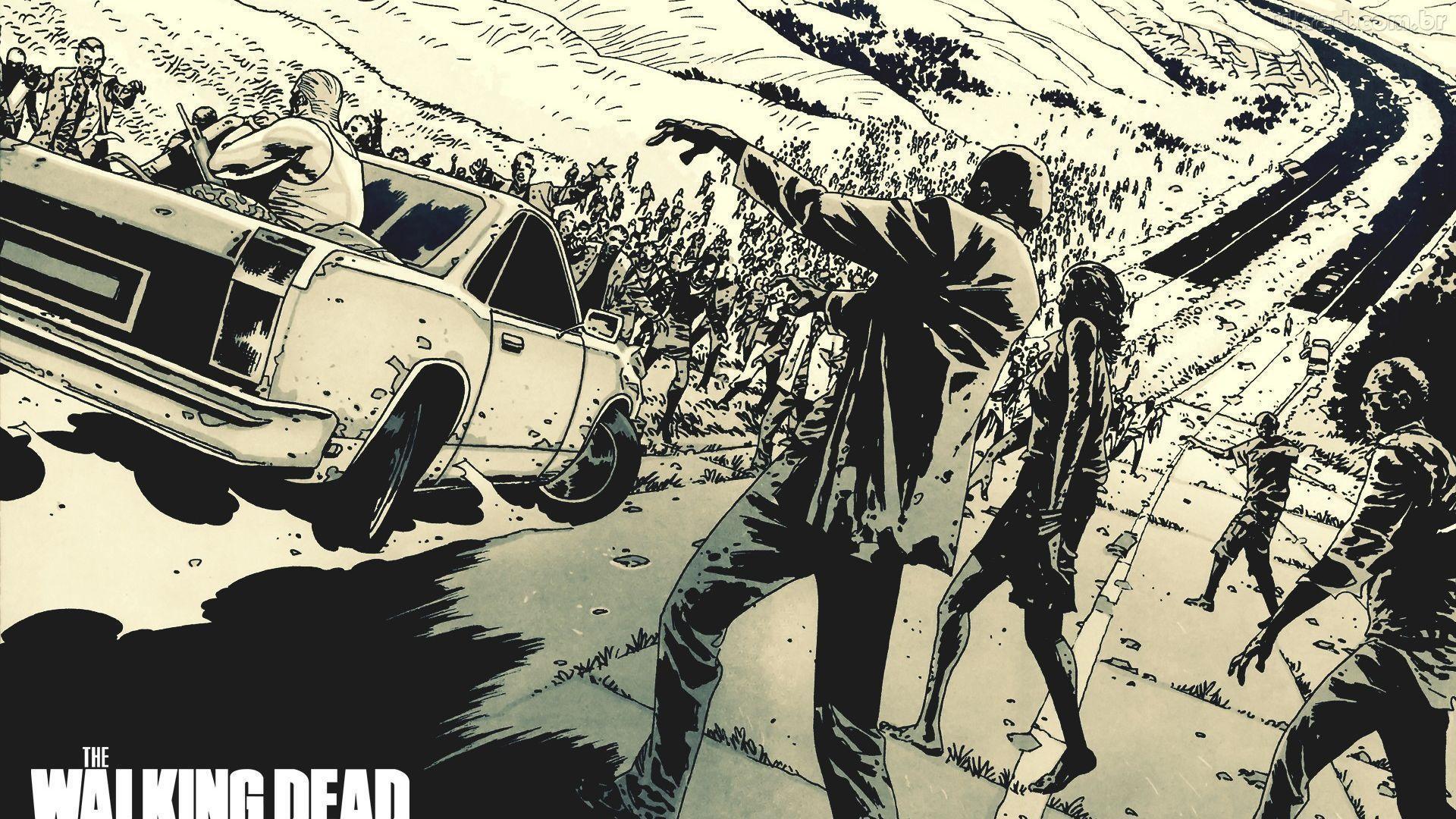 Papel De Parede The Walking Dead