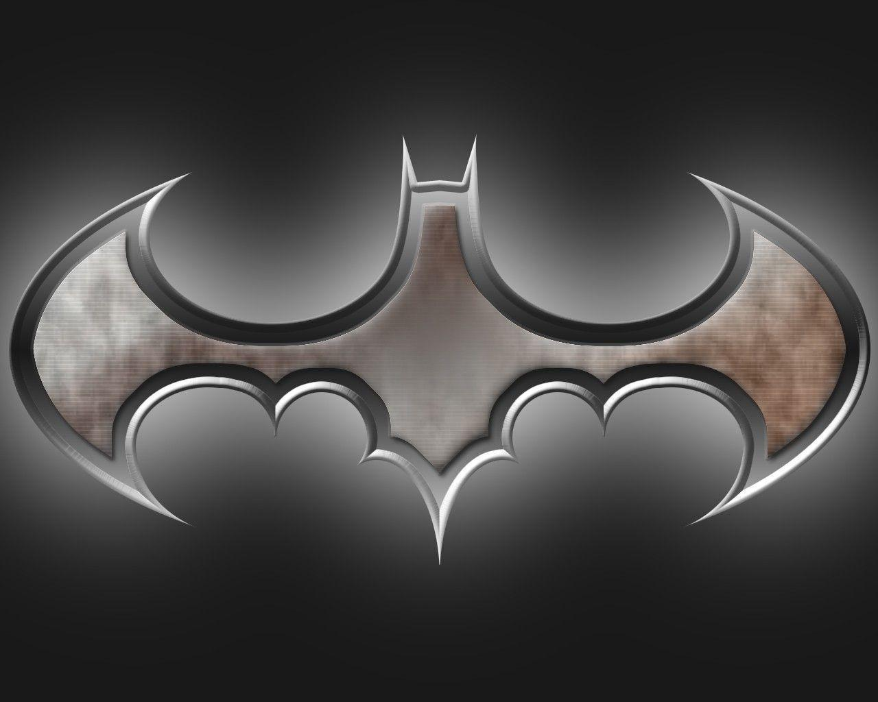 Wallpapers For > Batman Logo Wallpaper 3d