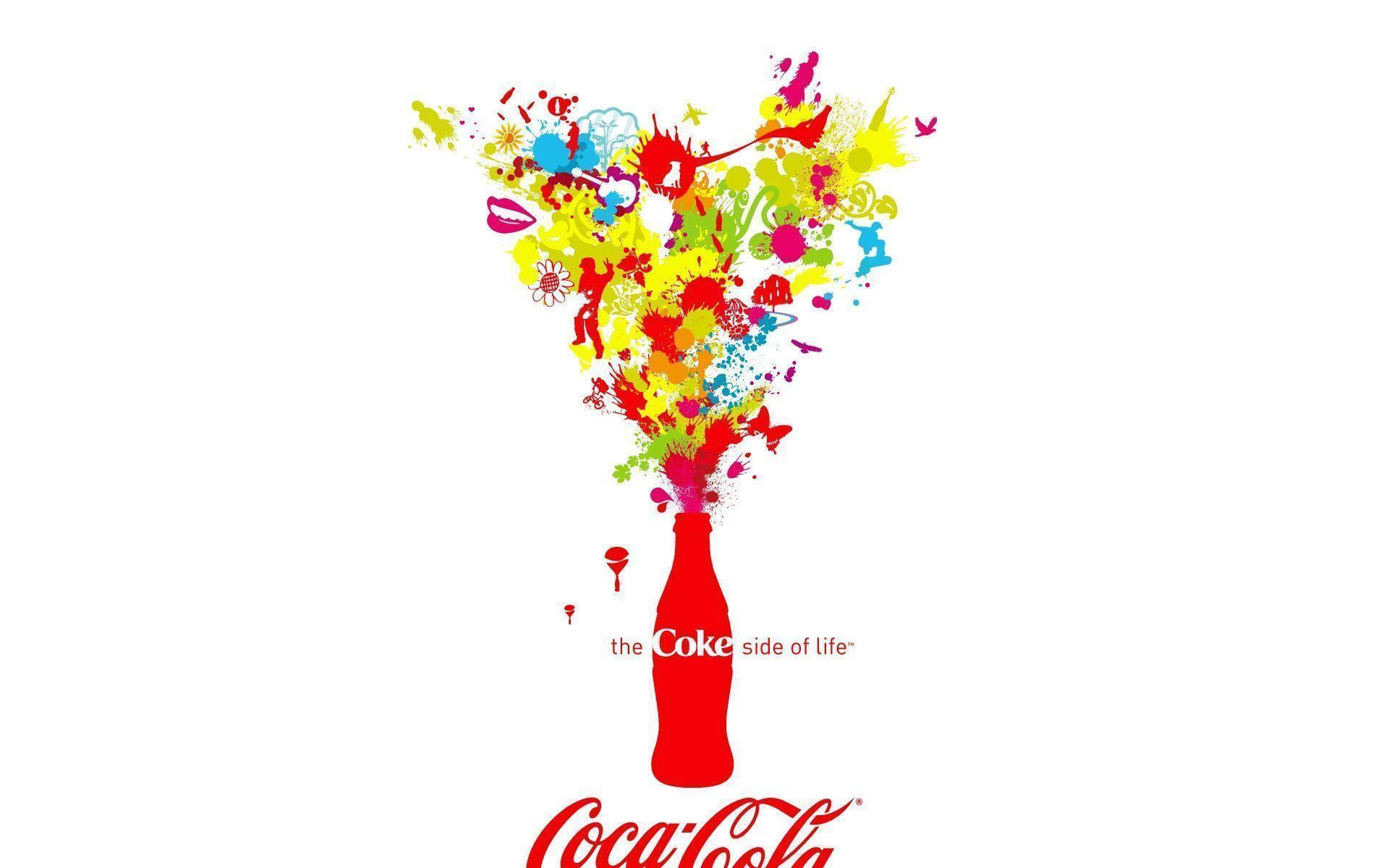 Wallpapers For > Coca Cola Bottle Wallpapers