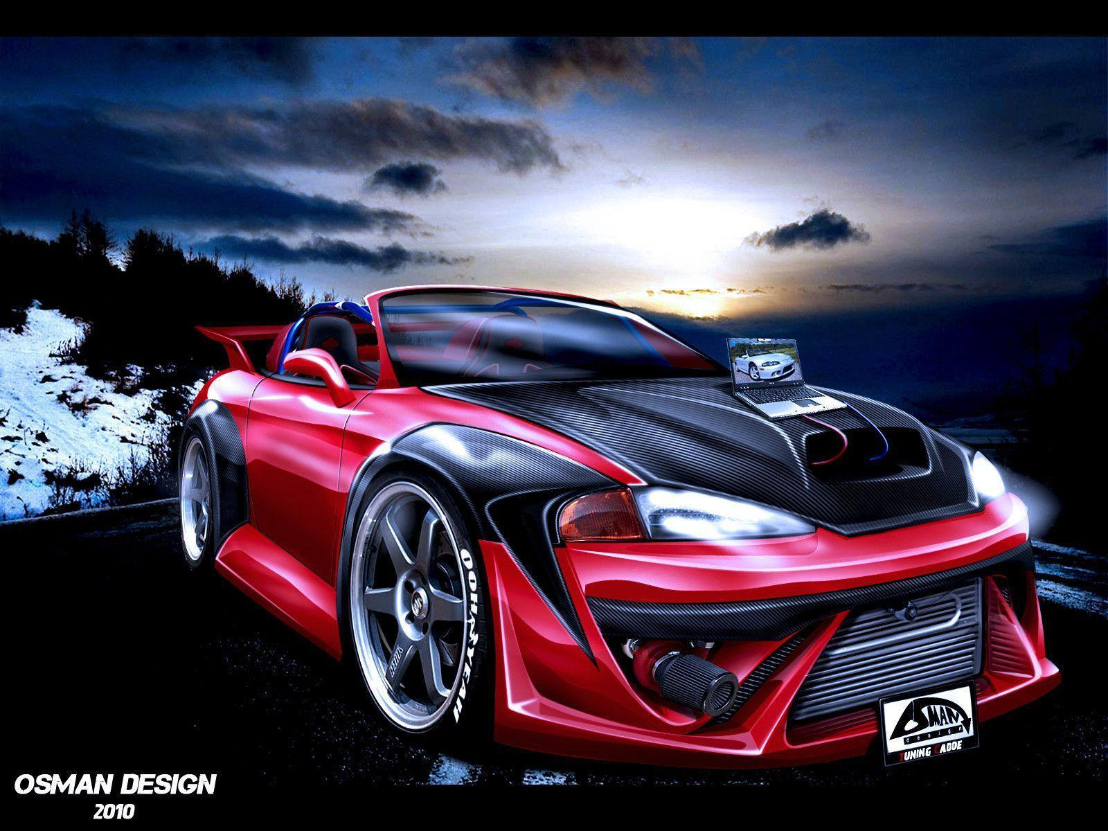 Mitsubishi Eclipse Gt V6 Car Wallpapers For Deskop Hd Car Pictures