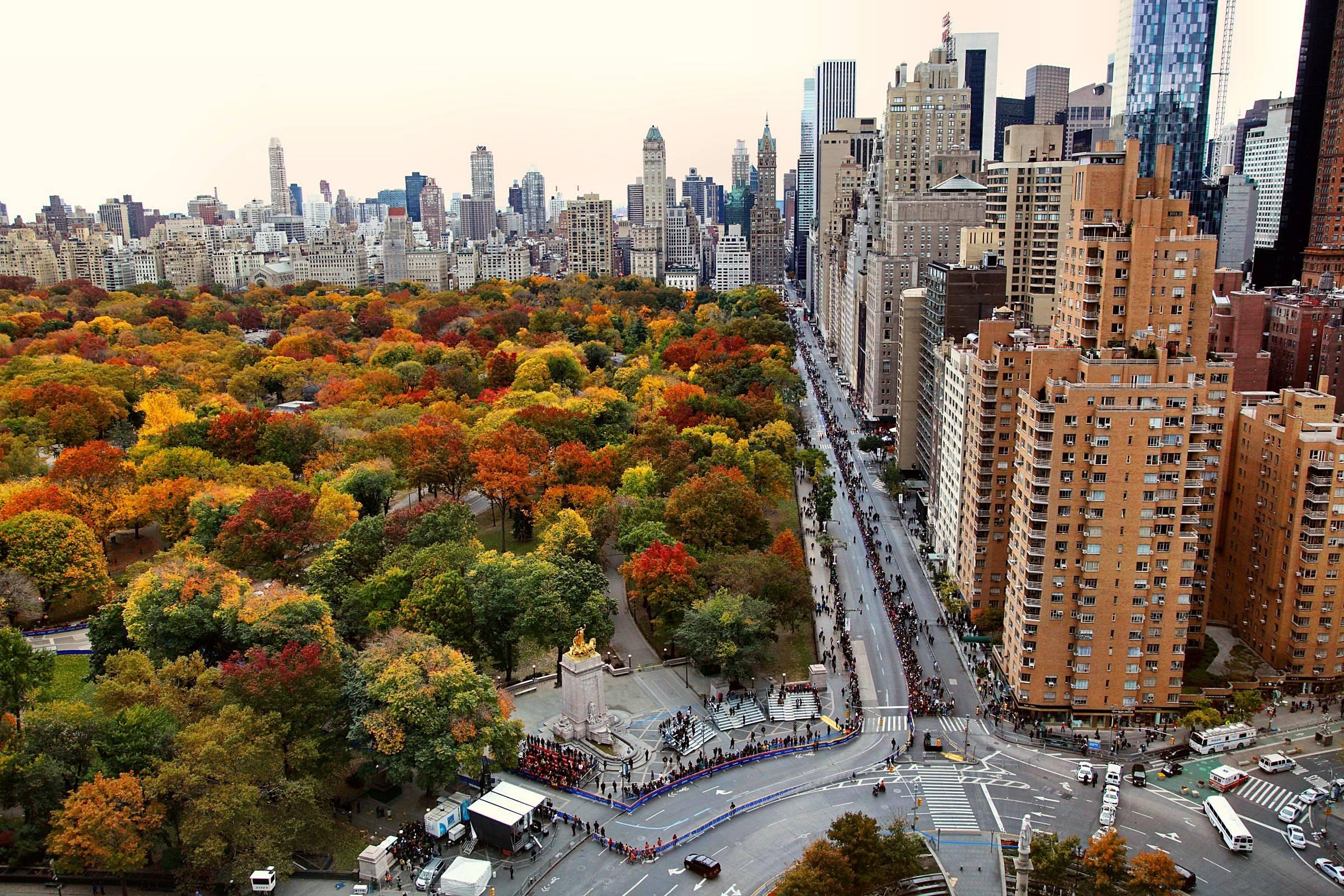 Central Park Fall Wallpaper - WallpaperSafari |Autumn Central Park Screensavers
