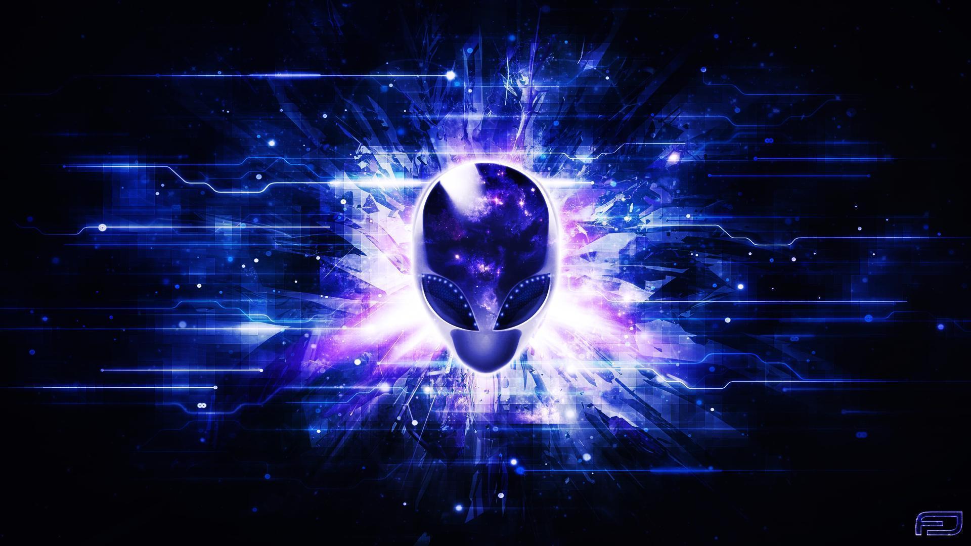 Images of alienware alien black background fan hd alienware wallpapers wallpaper cave voltagebd Images