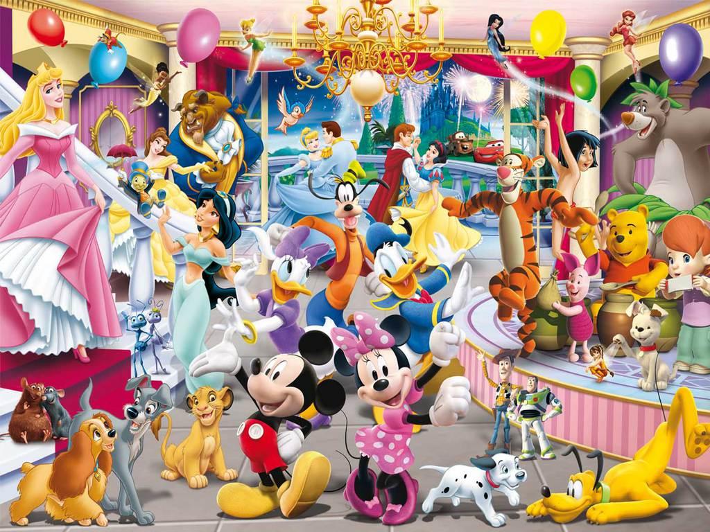 Disney Character Wallpapers Wallpaper Cave
