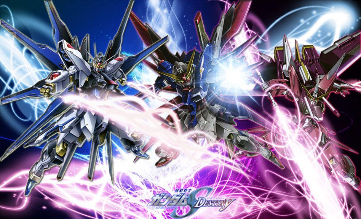 gundam seed destiny wallpapers wallpaper cave