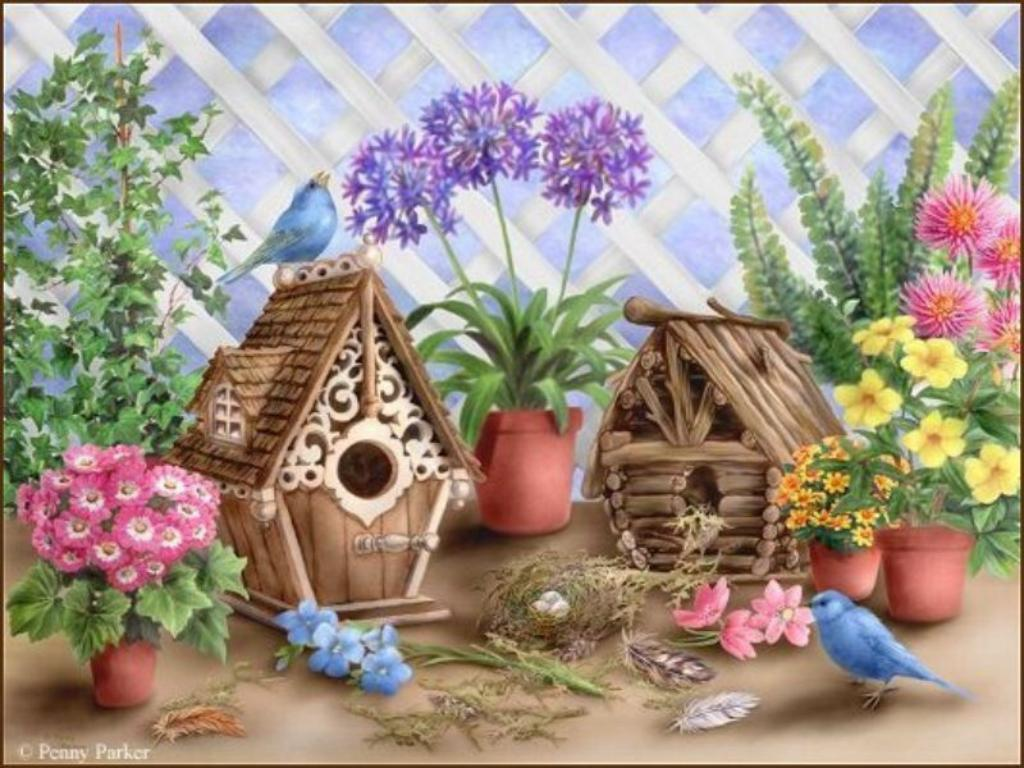Birdhouse Wallpapers - Wallpaper Cave