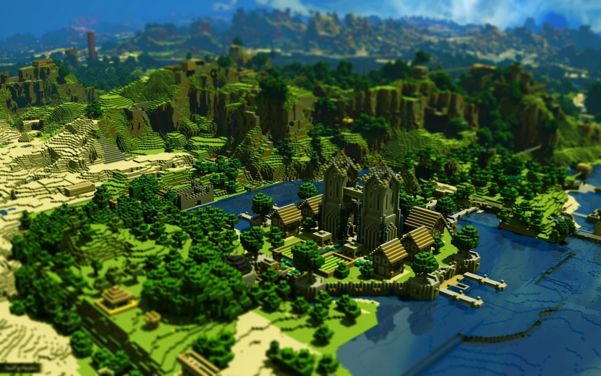 Wallpapers Minecraft HD - Taringa!