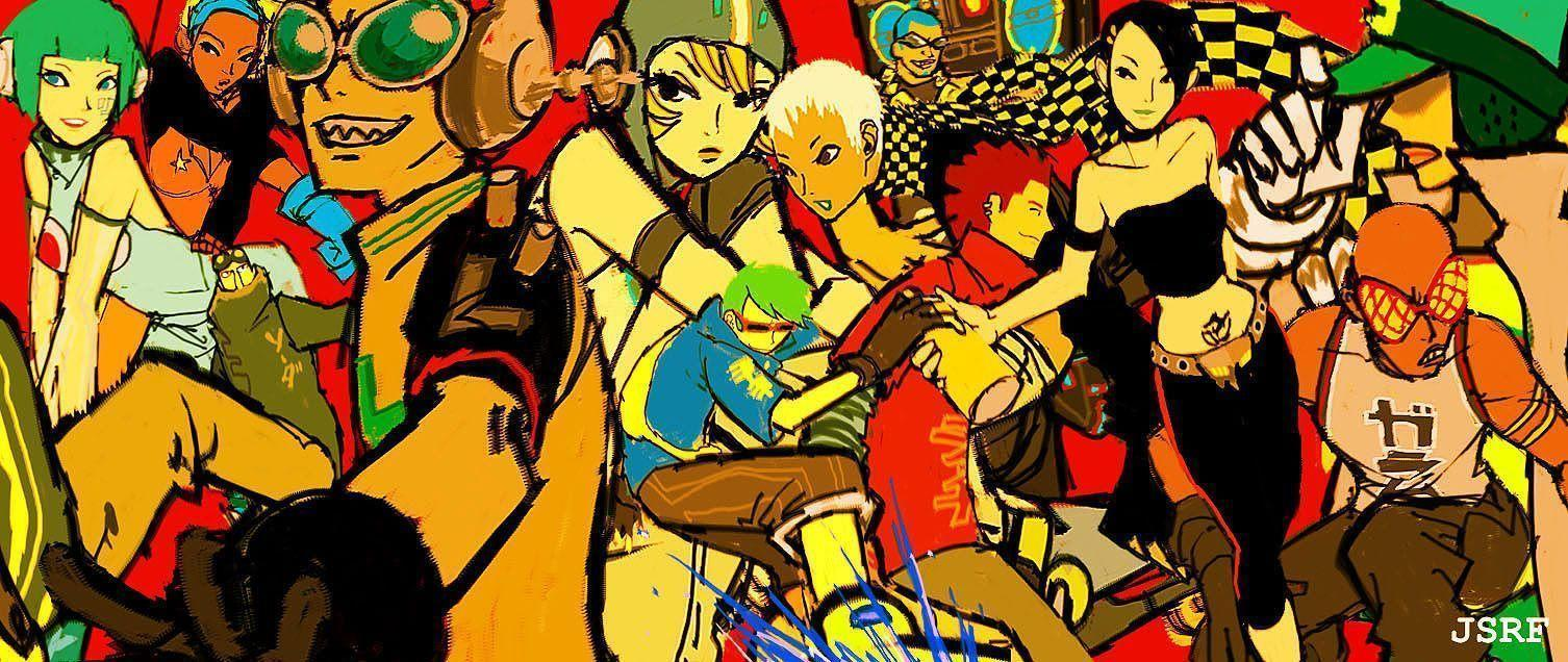 Jet Set Radio Wallpapers Wallpaper Cave