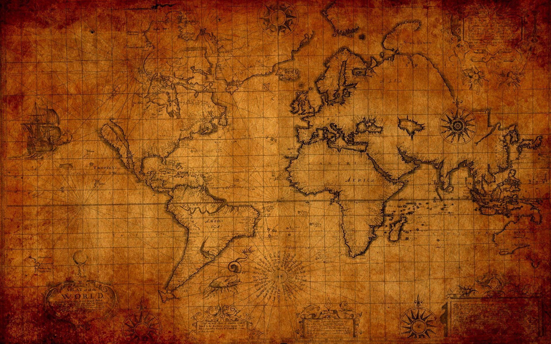 World Map Wallpapers High Resolution - Wallpaper Cave