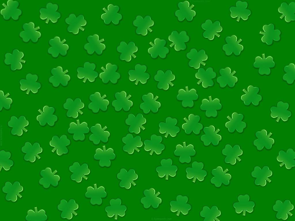 shamrock pattern wallpaper 1366x768 - photo #20