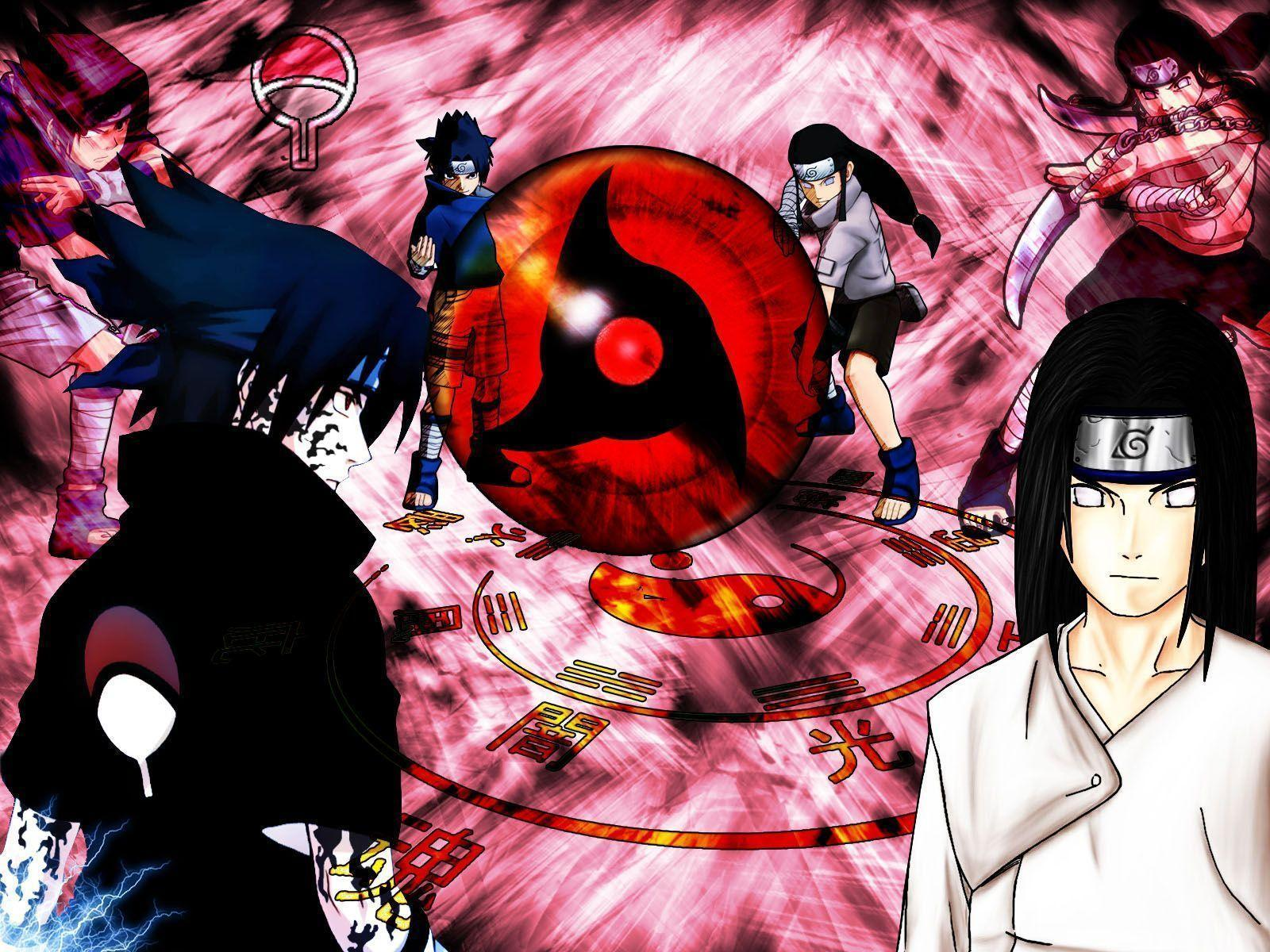 Naruto Neji Wallpapers Wallpaper Cave