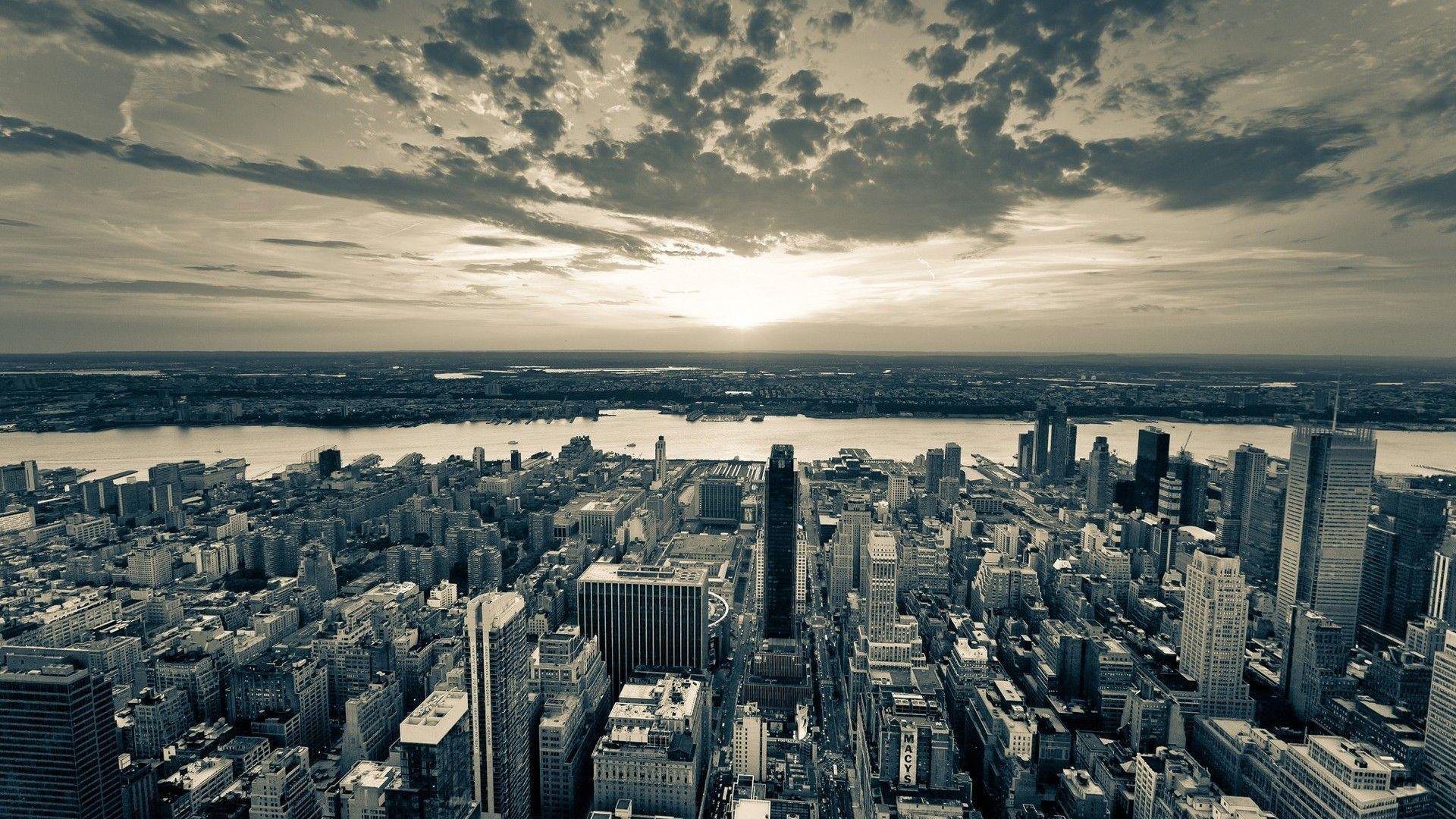 New York City Wallpapers Black And White