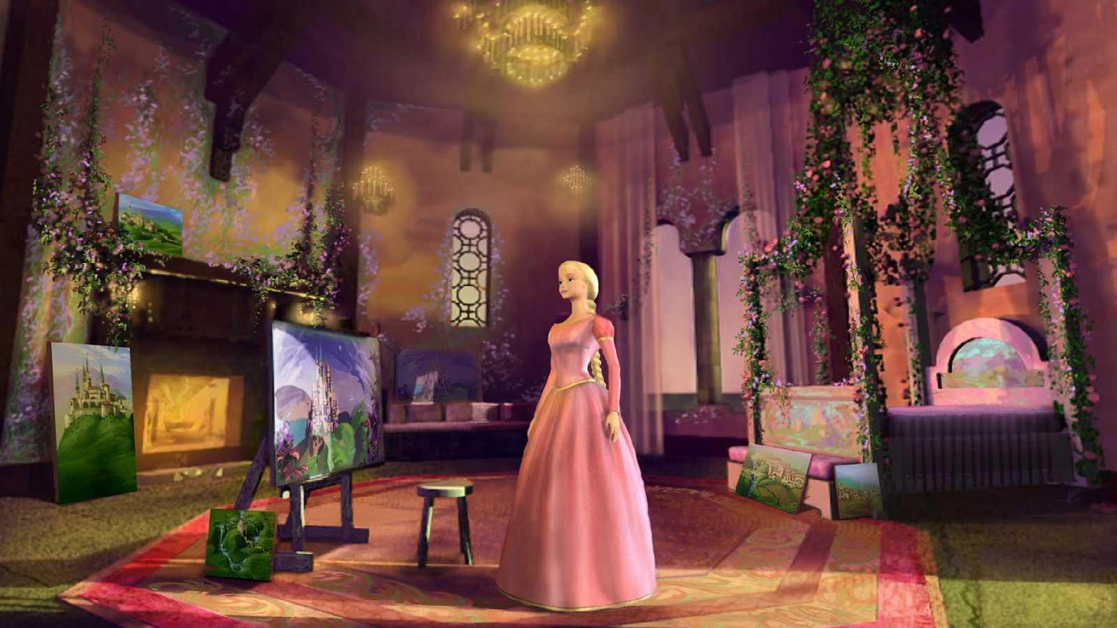 Barbie as Rapunzel - Barbie as Rapunzel Wallpaper (33786412) - Fanpop