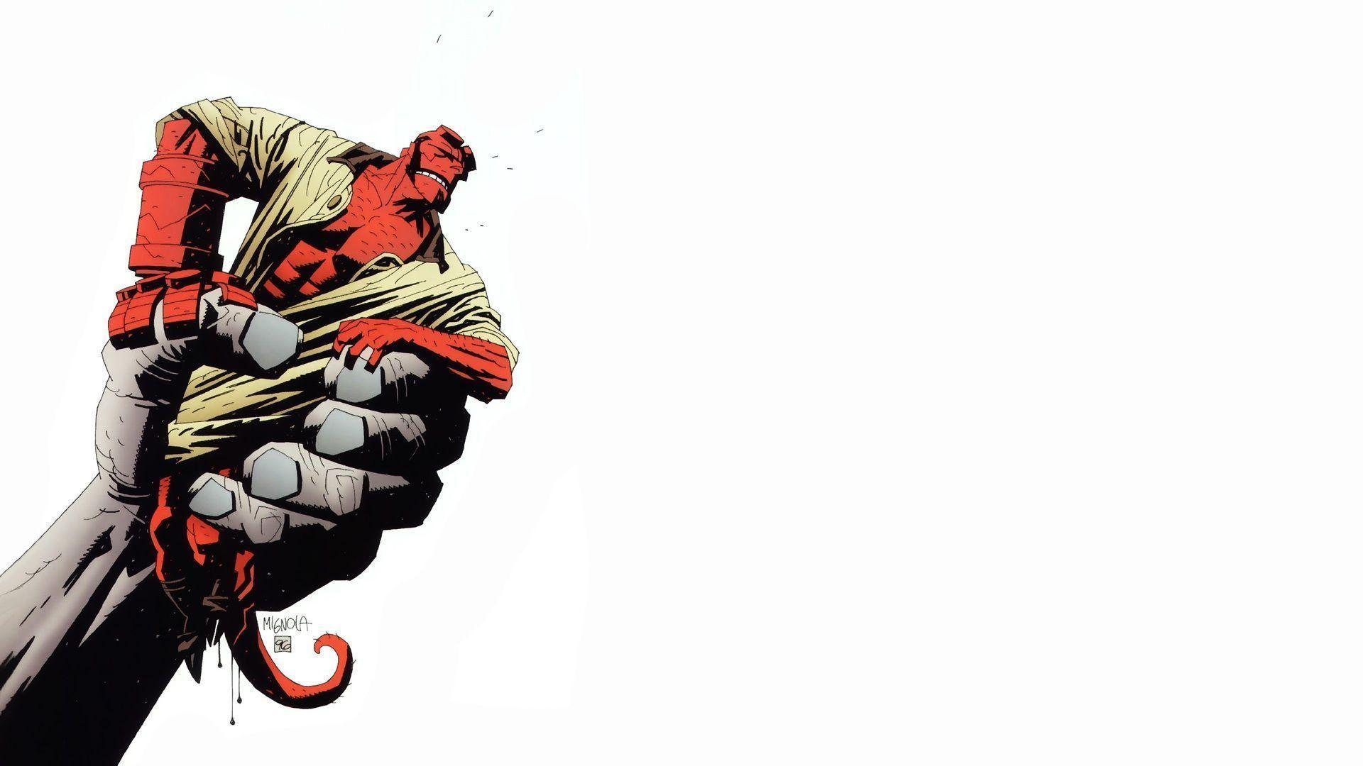 Images For > Hellboy Iphone Wallpaper