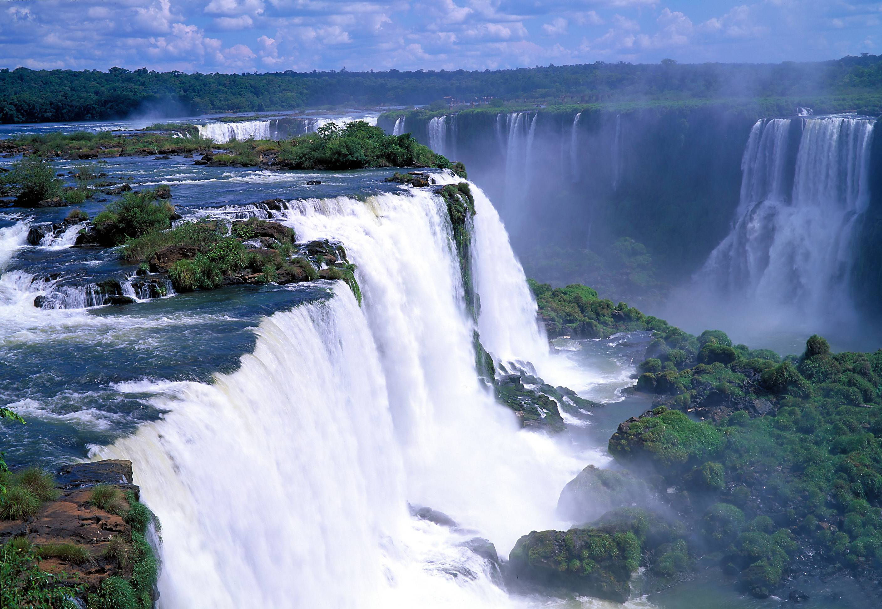 Iguazu Falls Wallpapers - Wallpaper Cave Wonder Of Nature Wallpaper