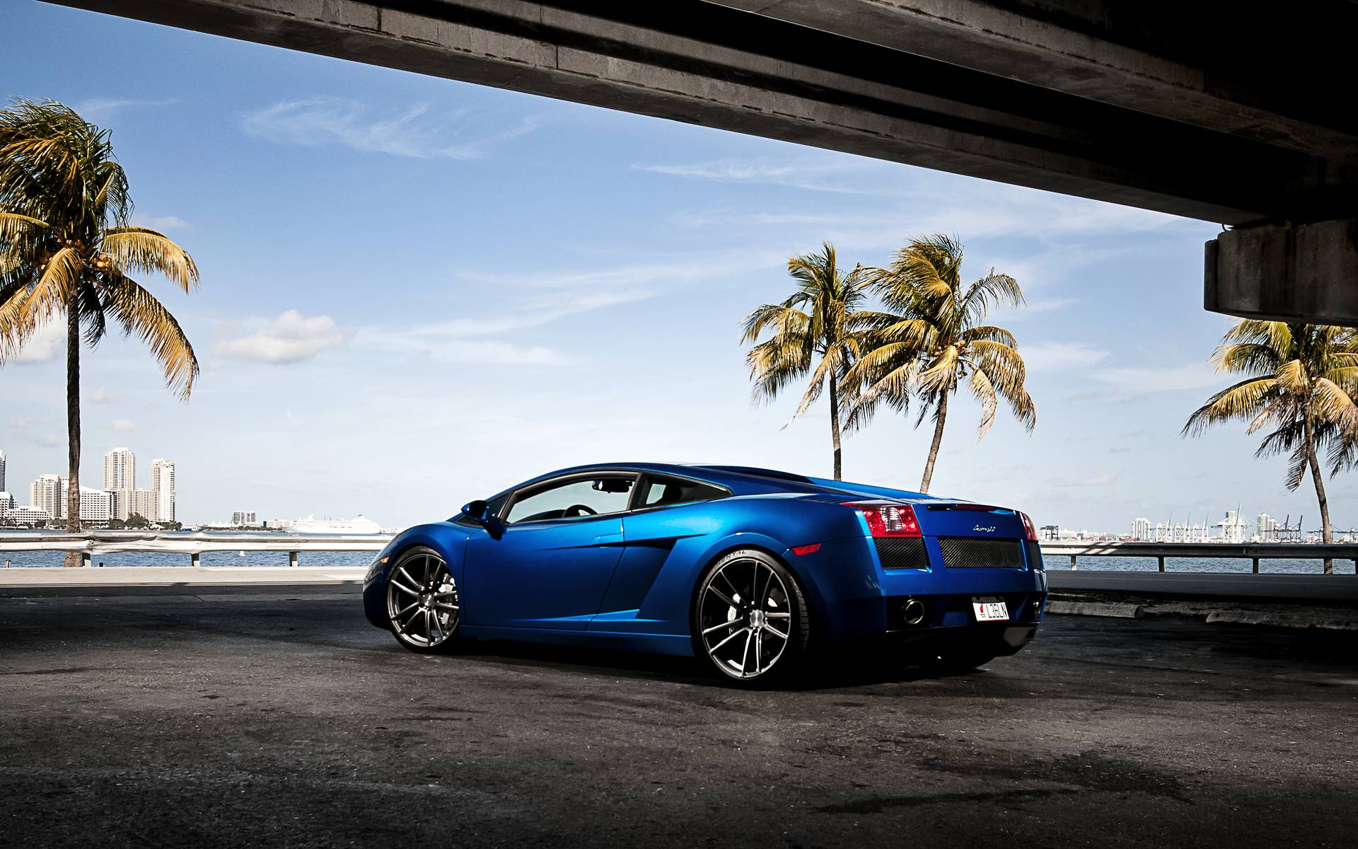 2015 lamborghini gallardo blue background hd wallpaper desktop - Lamborghini Gallardo Wallpaper Blue