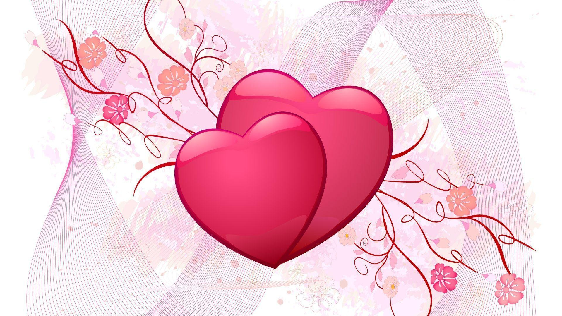 Valentines For > Pretty Heart Wallpapers