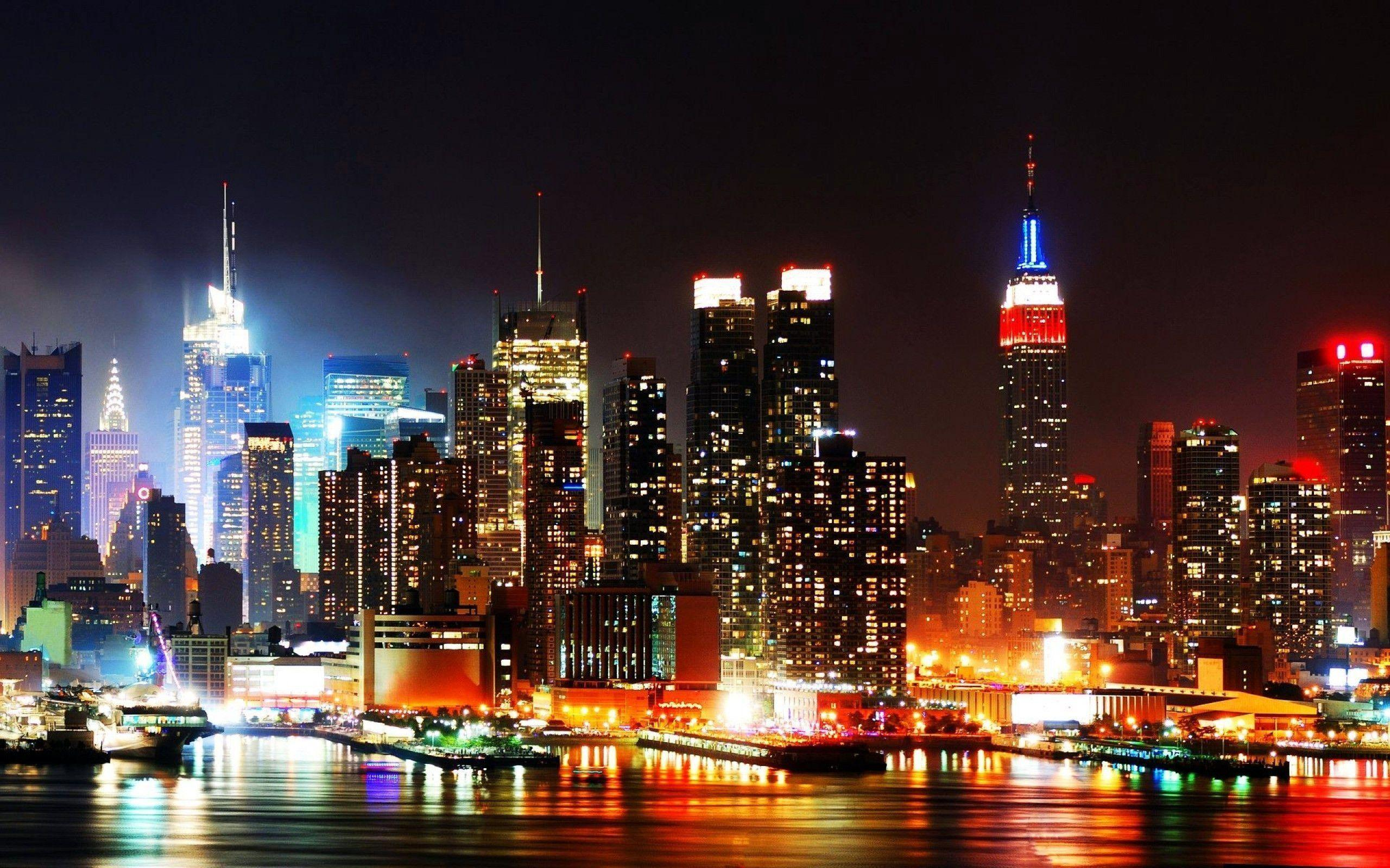 New york skyline wallpapers wallpaper cave for Sfondi desktop new york
