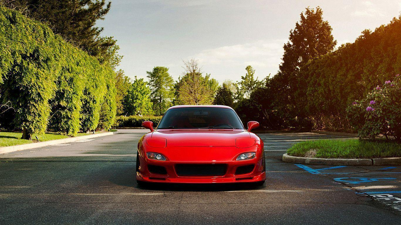 Red Mazda RX7 Wallpapers | hdwallpapers-