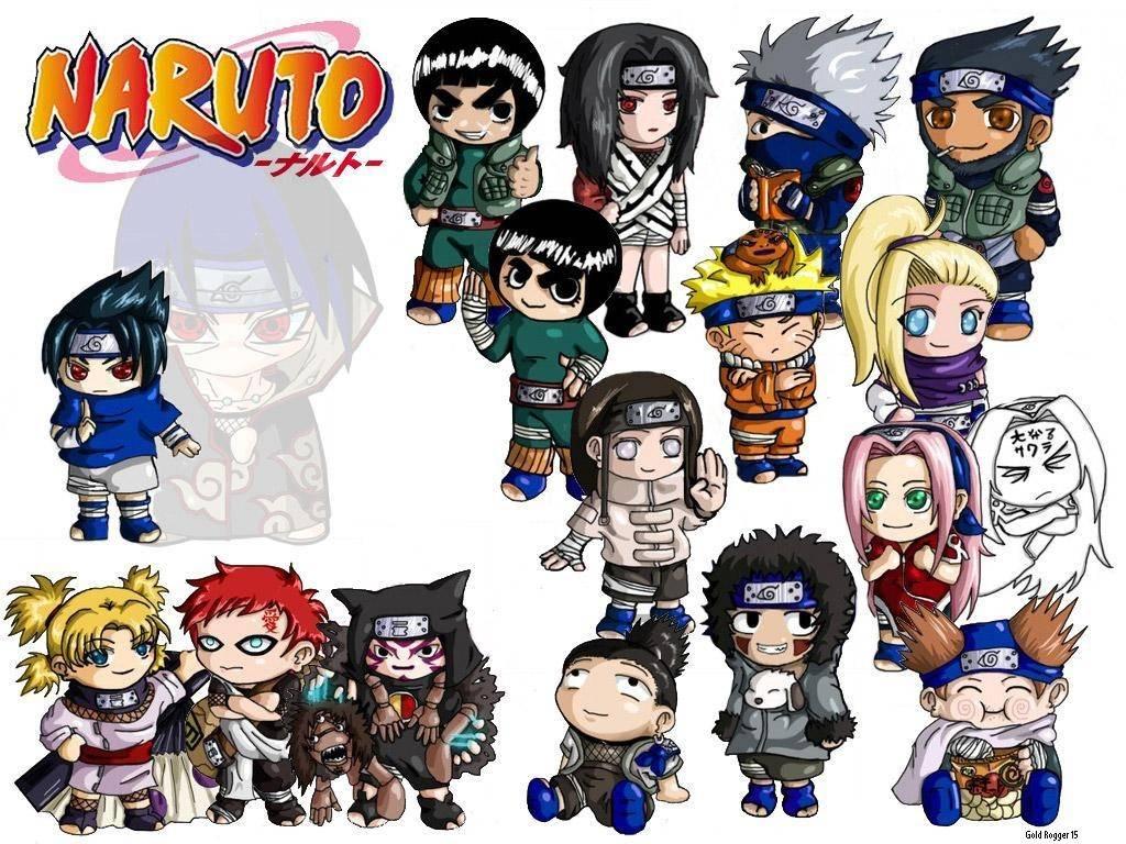 Chibi Naruto Great Wallpaer Narutos Labels Myanimanga Desktop