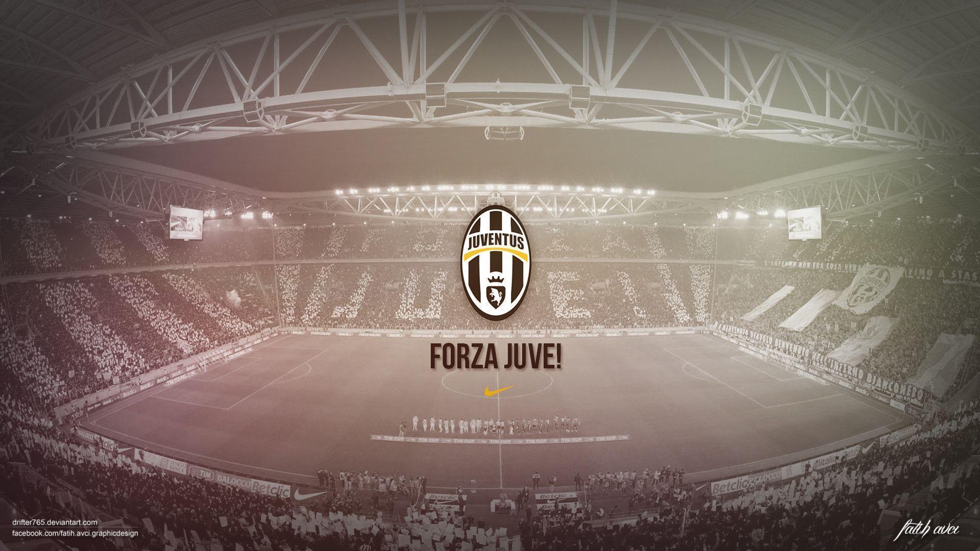 Juventus hd wallpapers wallpaper cave - Forza logo wallpaper ...