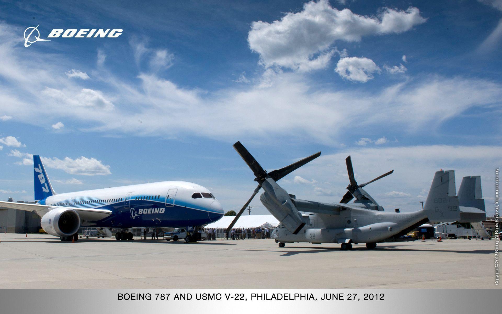 Boeing 787 wallpaper