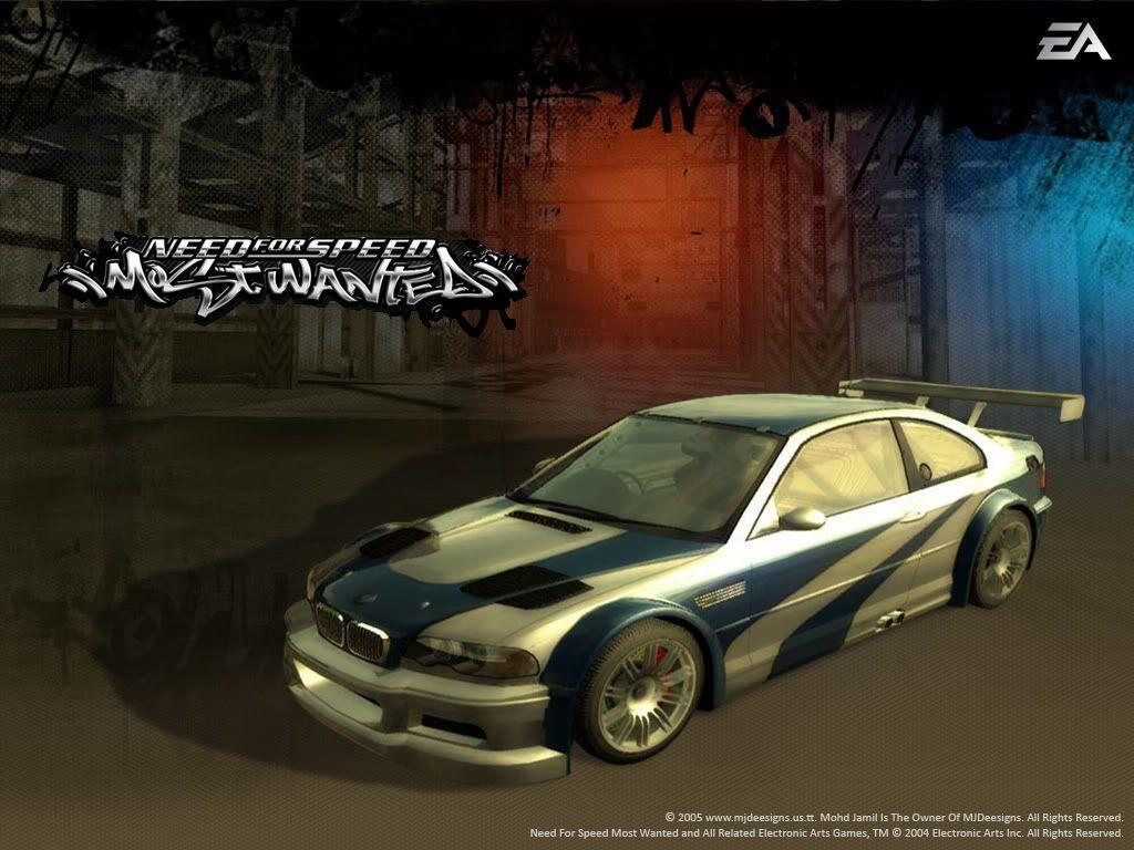 Wallpapers For > Need For Speed Most Wanted Wallpapers Bmw