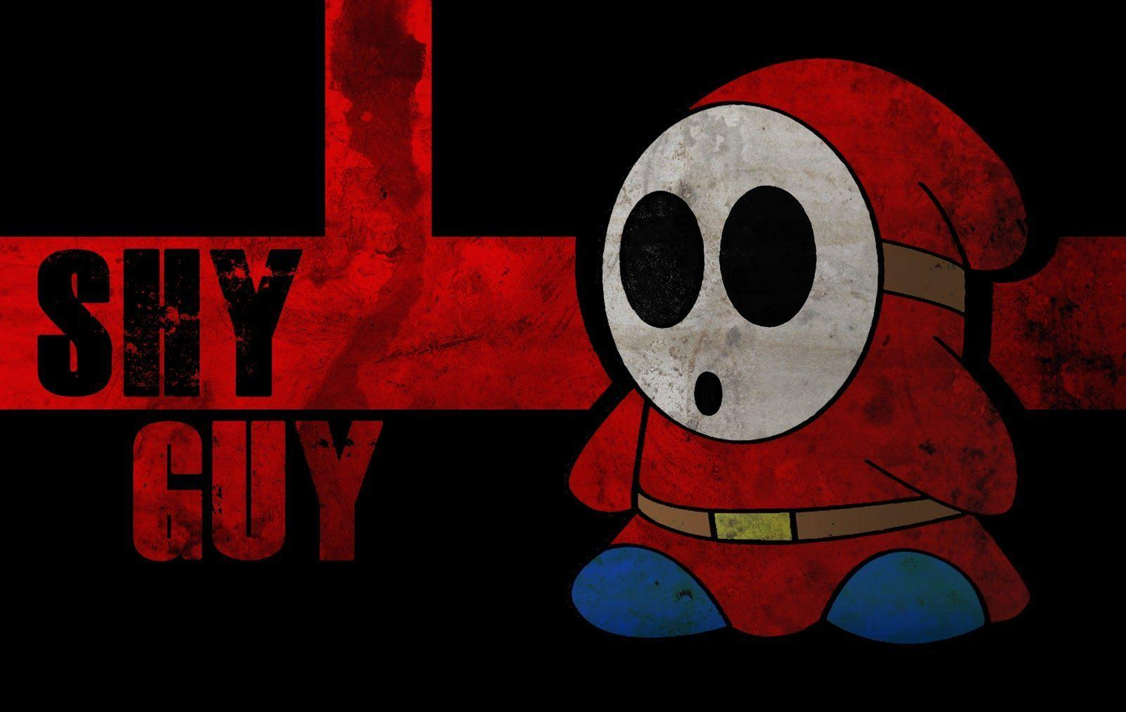 Shy Guy Wallpapers Wallpaper Cave