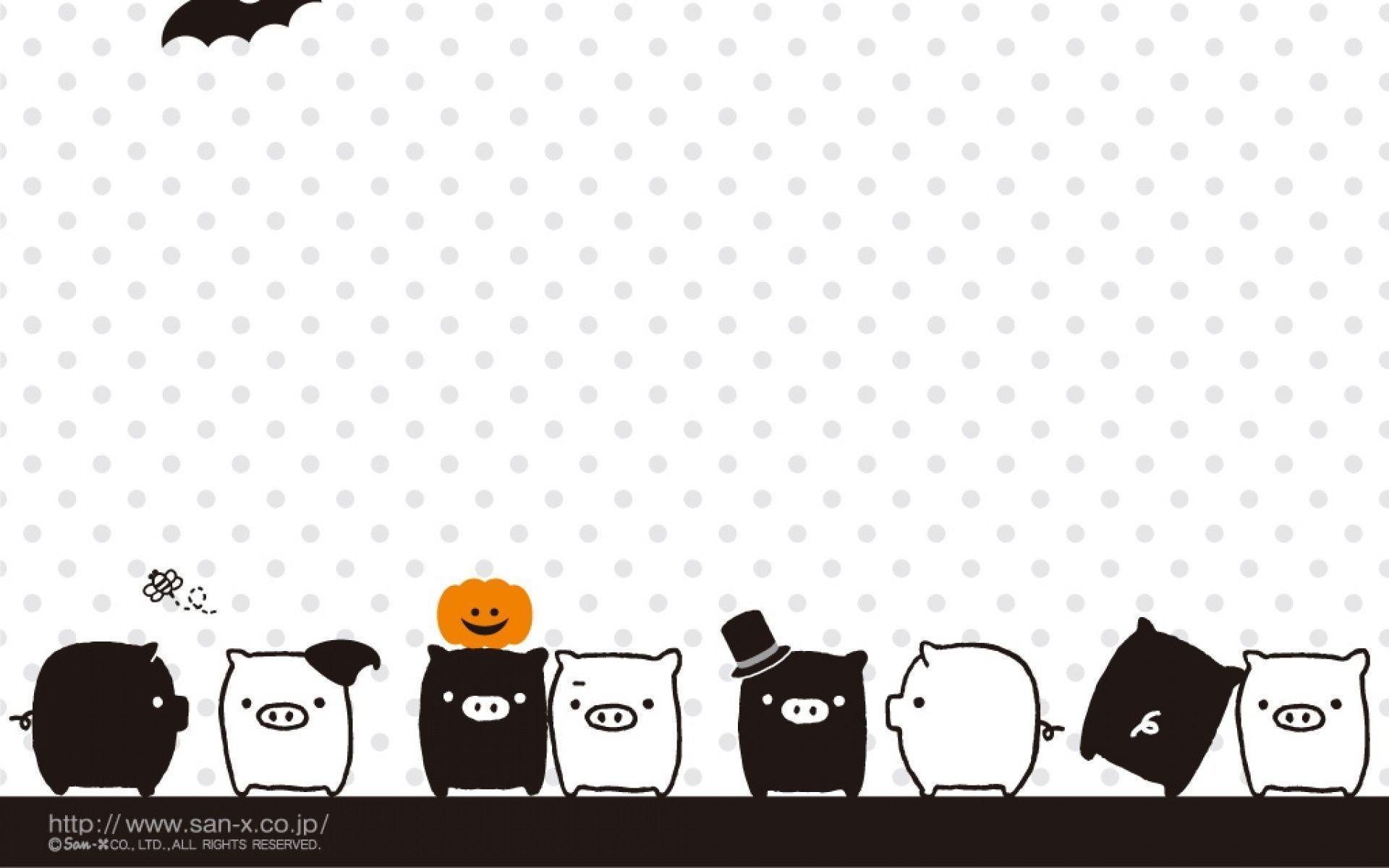 cute pigs cartoon wallpaper - photo #15