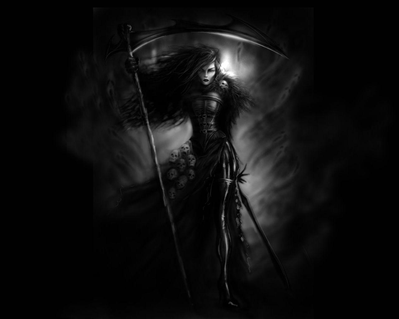Dark Grim Reaper Wallpapers Wallpaper