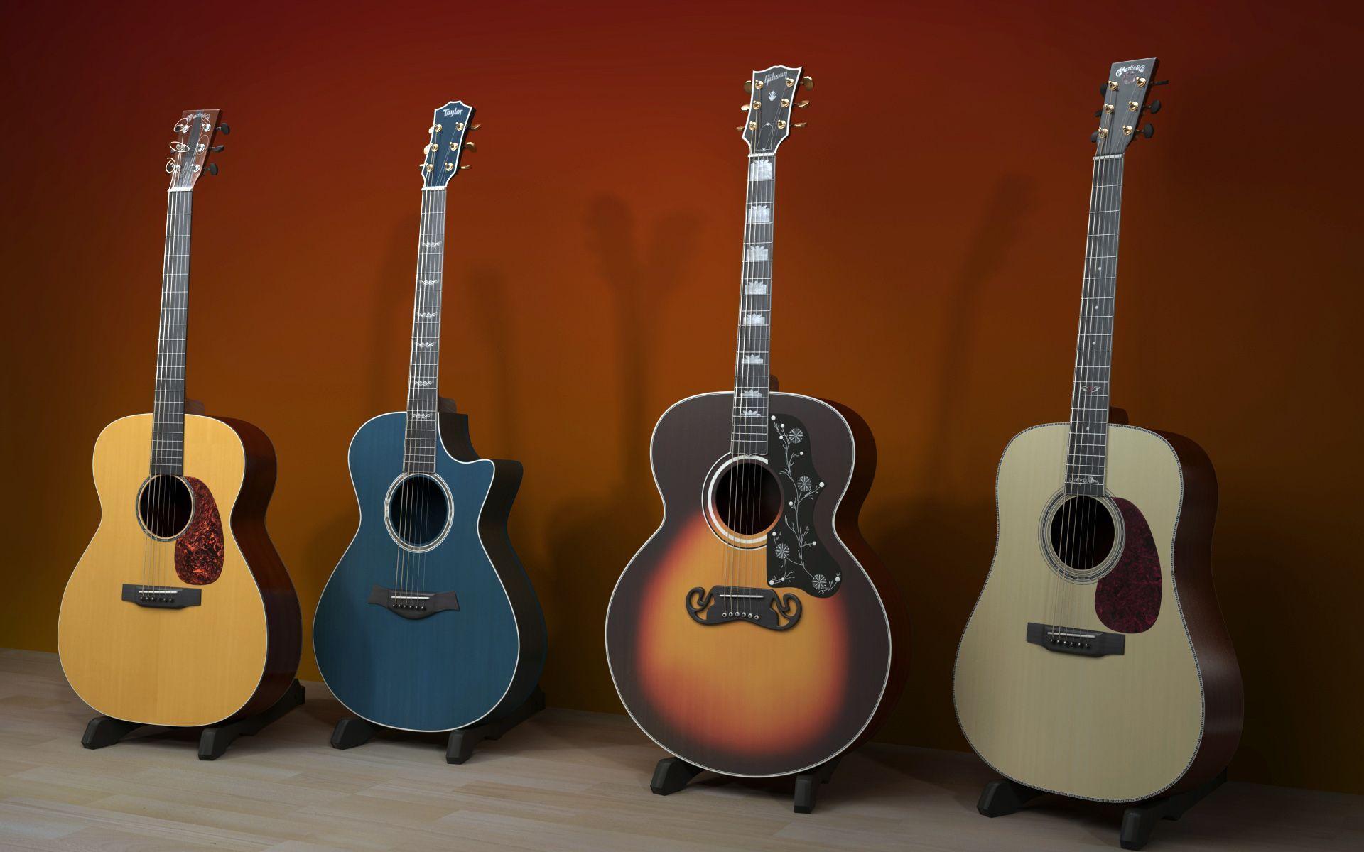 Wallpapers For > Guitar Wallpaper Hd Widescreen