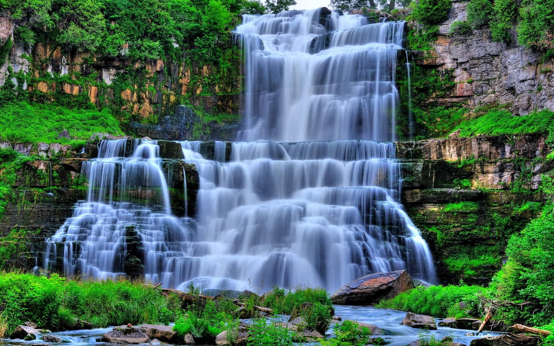 Waterfall HD Wallpapers Wallpaper