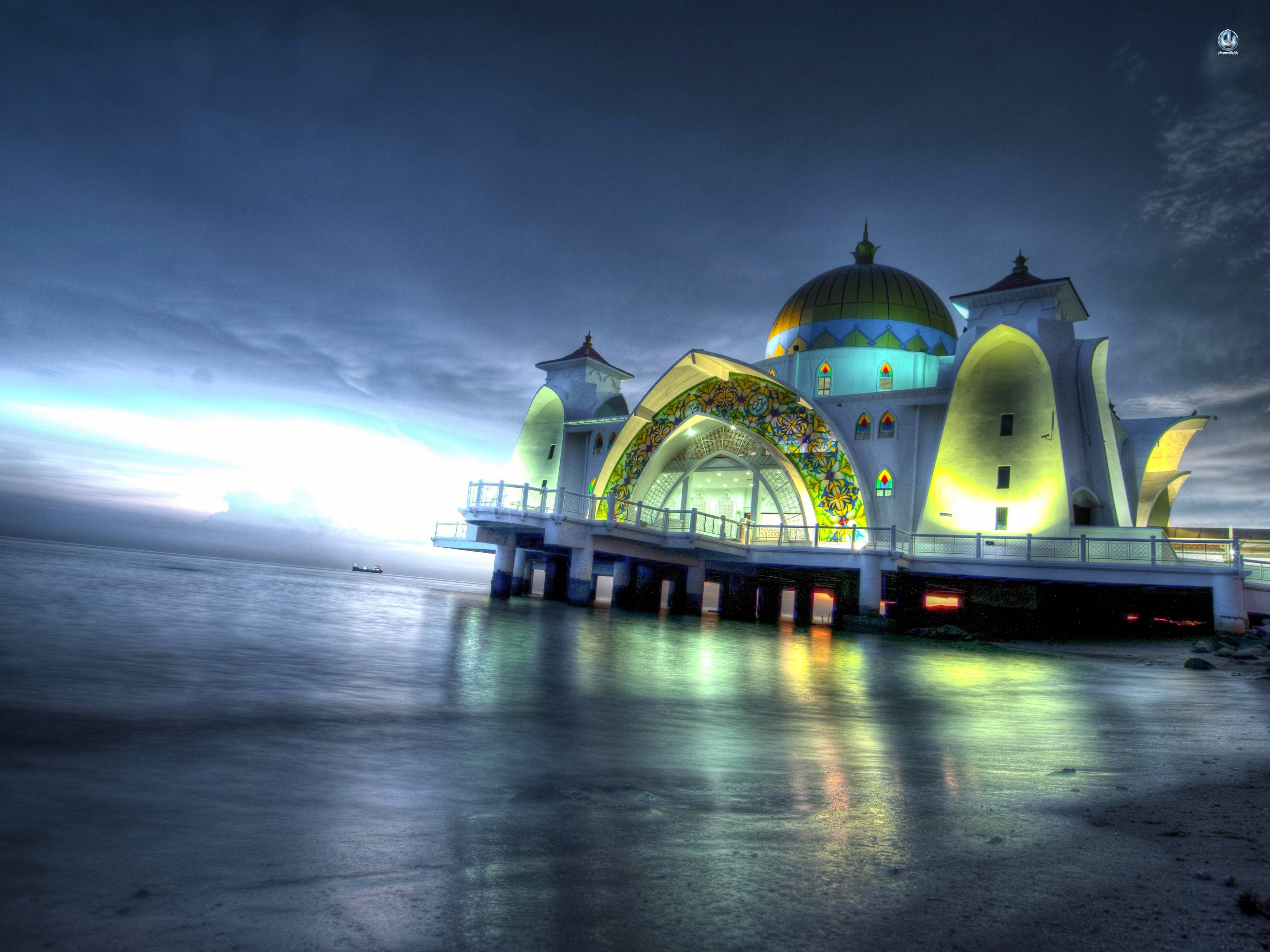 Wallpapers mosque wallpaper cave for 3d wallpaper for home malaysia